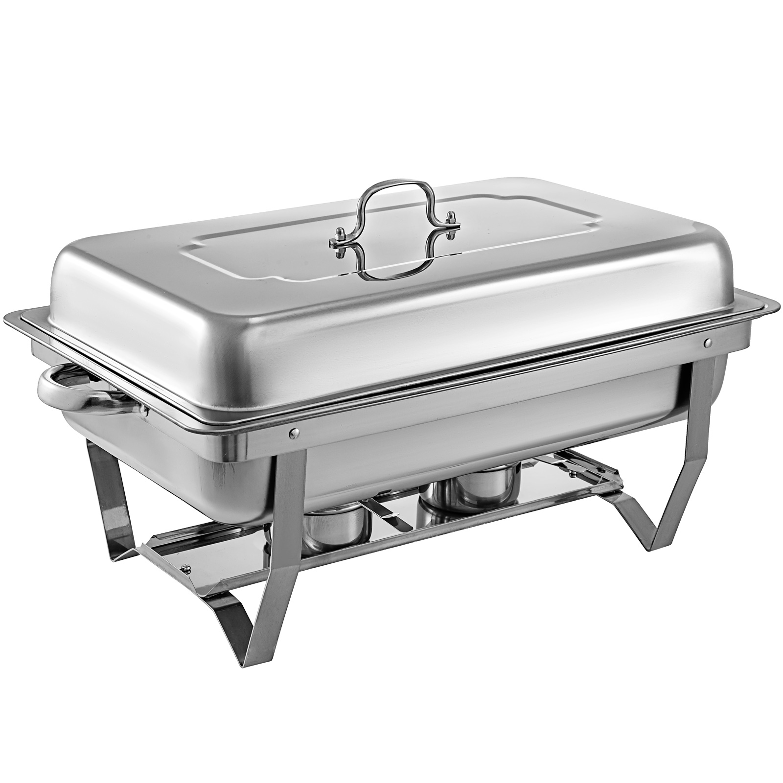 thumbnail 94 - Multi-Stainless-Steel-Chafing-Dish-Bain-Marie-Bow-Catering-Dish-Hotpot-Server