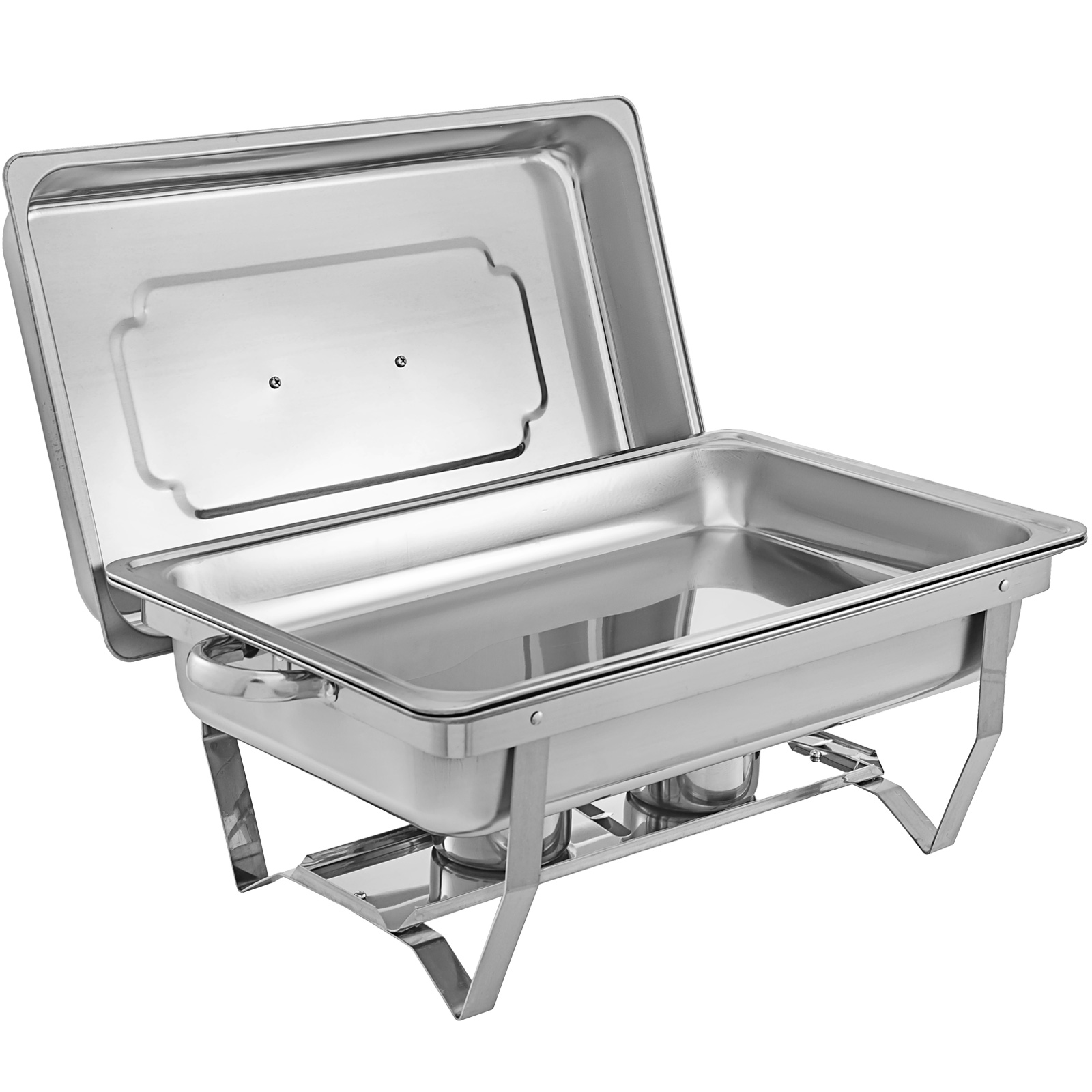 thumbnail 47 - Multi-Stainless-Steel-Chafing-Dish-Bain-Marie-Bow-Catering-Dish-Hotpot-Server