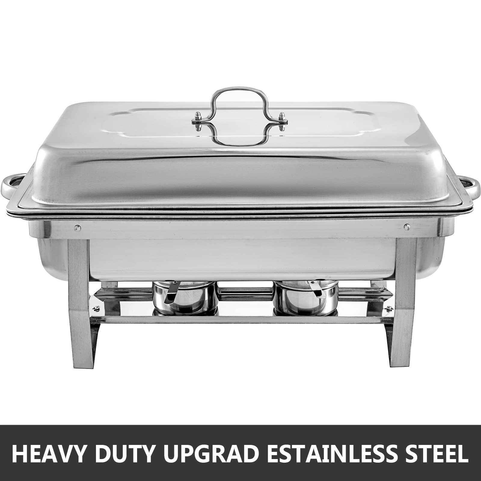 thumbnail 50 - Multi-Stainless-Steel-Chafing-Dish-Bain-Marie-Bow-Catering-Dish-Hotpot-Server