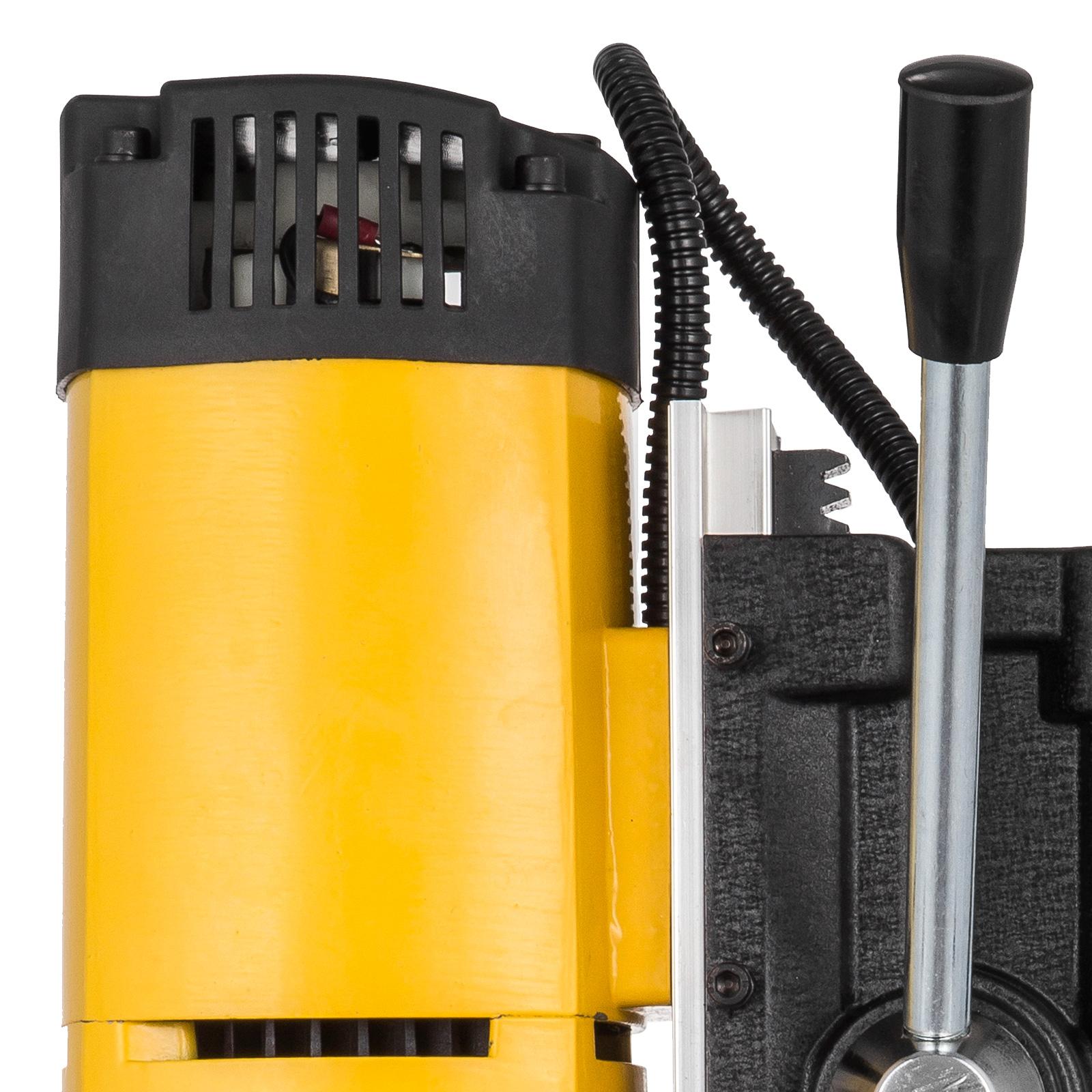 MB23-BRM35-MD40-Trapano-Perforatrice-Carotatore-Fresa-Magnetico-12-40mm-230V miniatura 56