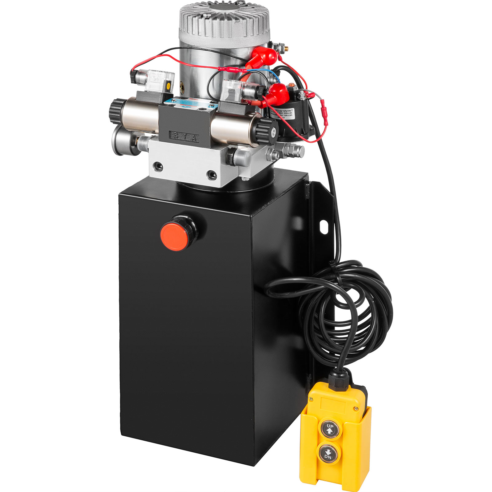 Hydraulic Power Unit Double Acting w// Pressure Gauge Hydraulic Pump 16 Quart