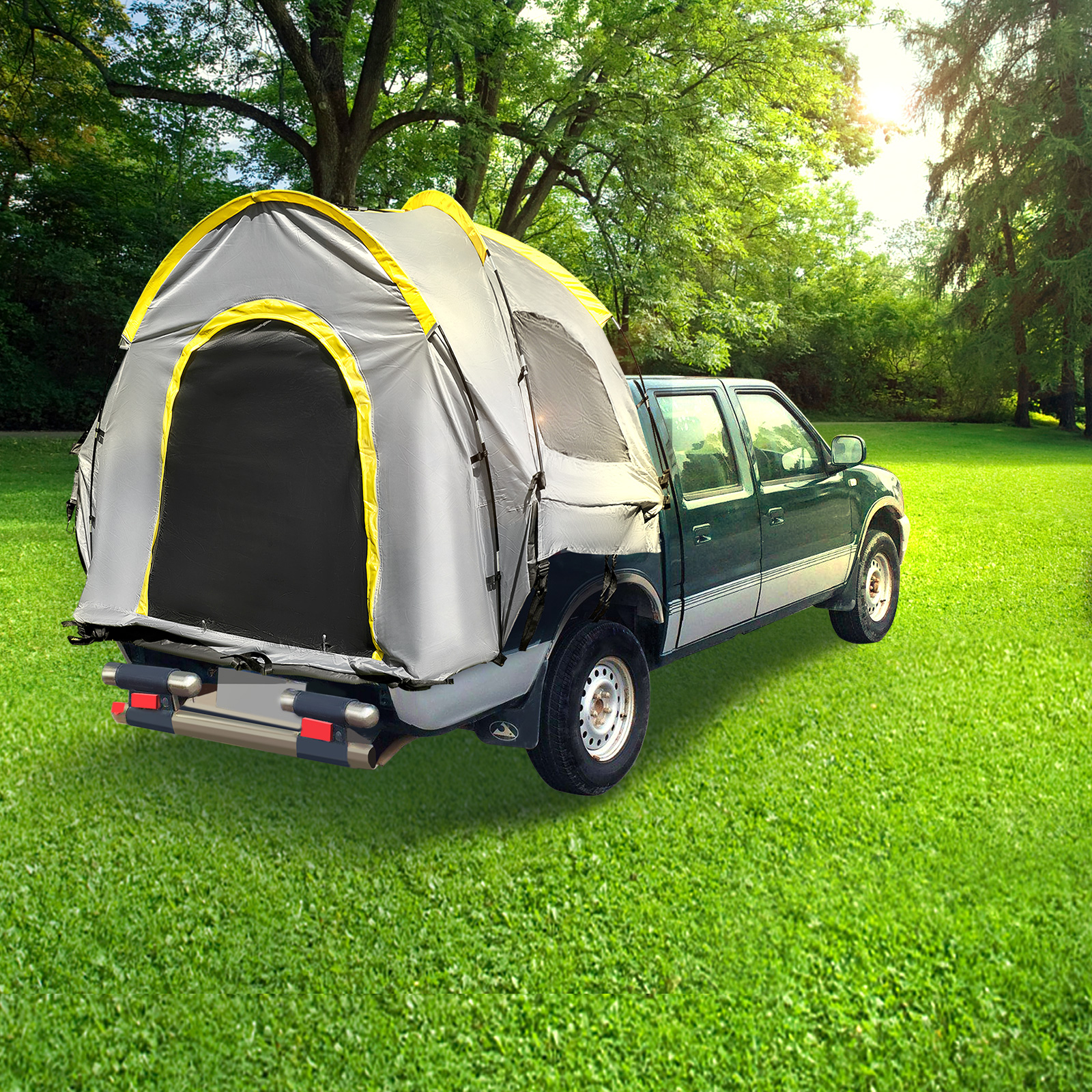 thumbnail 12 - VEVOR Truck Tent Truck Bed Tent 5' - 8' Pickup Tent Waterproof Outdoor Camping
