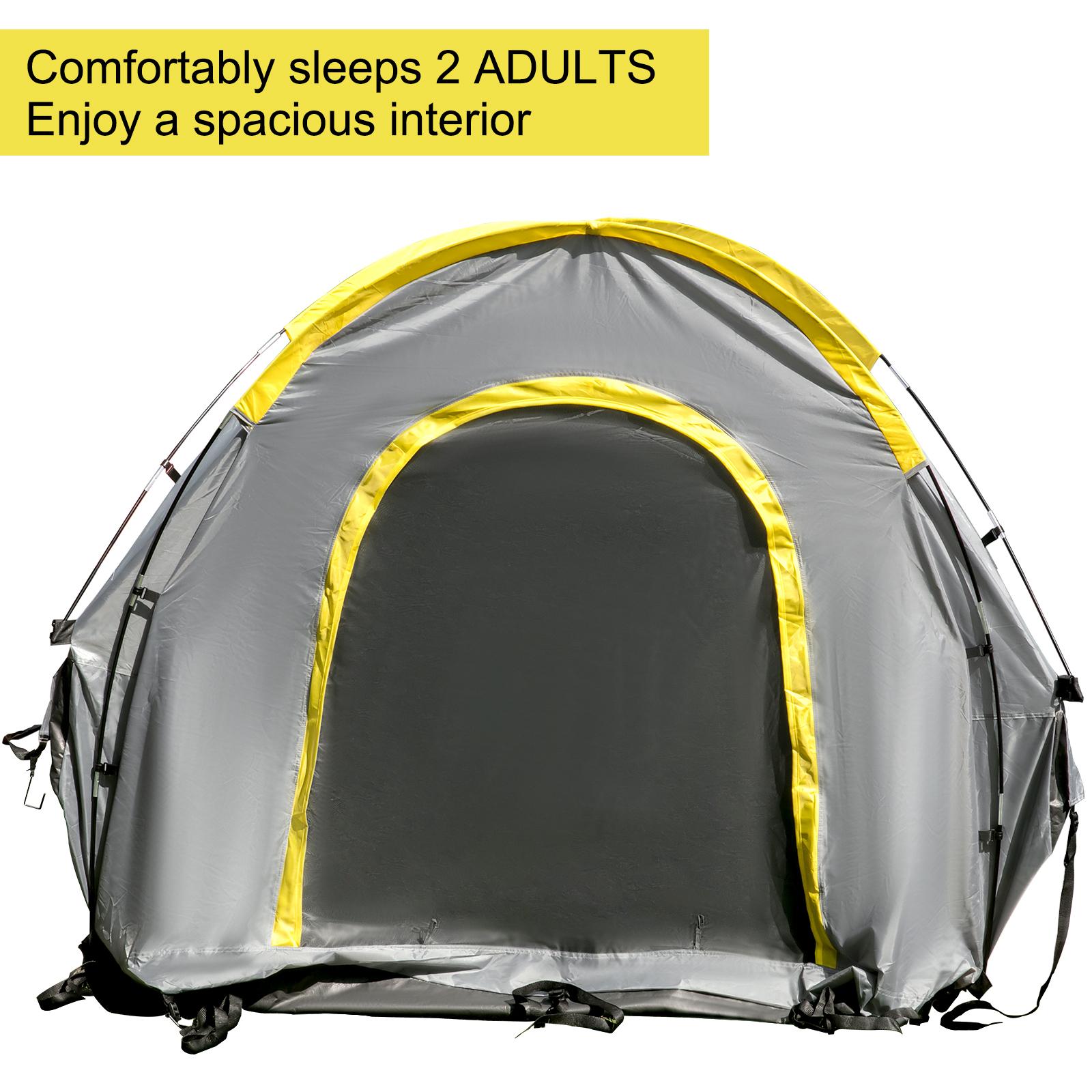 thumbnail 5 - VEVOR Truck Tent Truck Bed Tent 5' - 8' Pickup Tent Waterproof Outdoor Camping