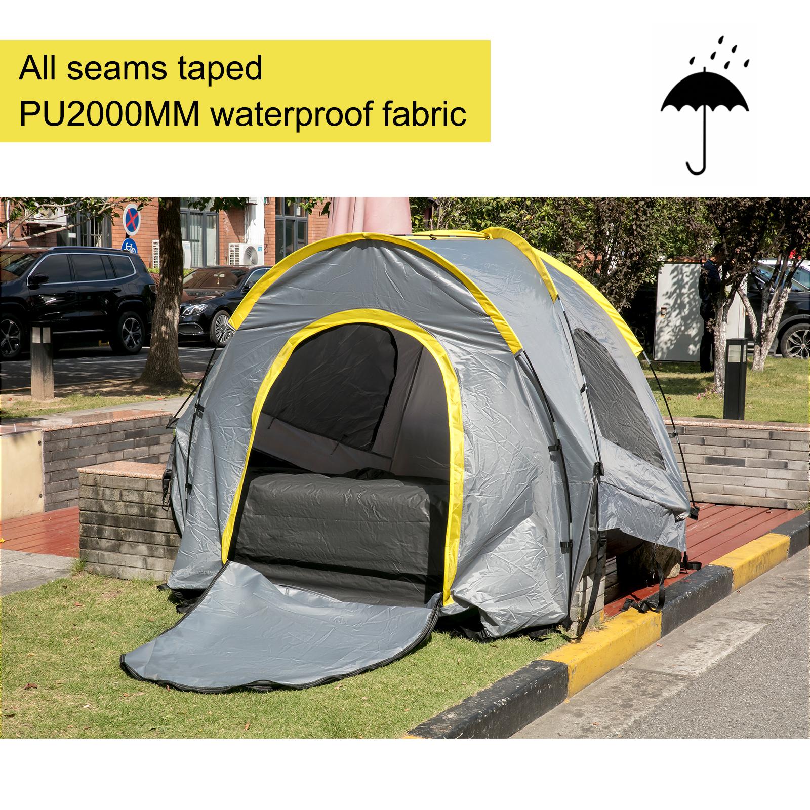 thumbnail 32 - VEVOR Truck Tent Truck Bed Tent 5' - 8' Pickup Tent Waterproof Outdoor Camping