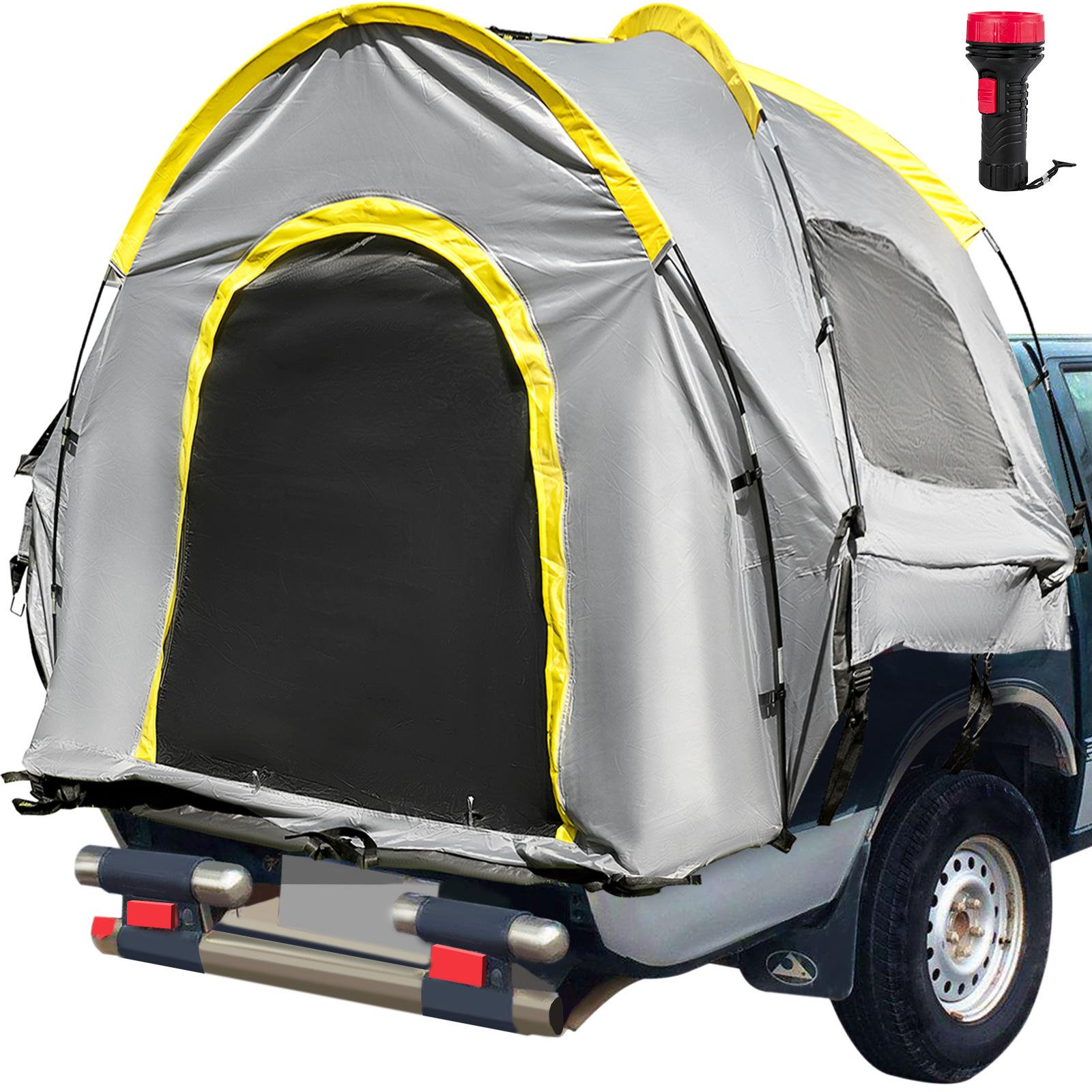 thumbnail 39 - VEVOR Truck Tent Truck Bed Tent 5' - 8' Pickup Tent Waterproof Outdoor Camping