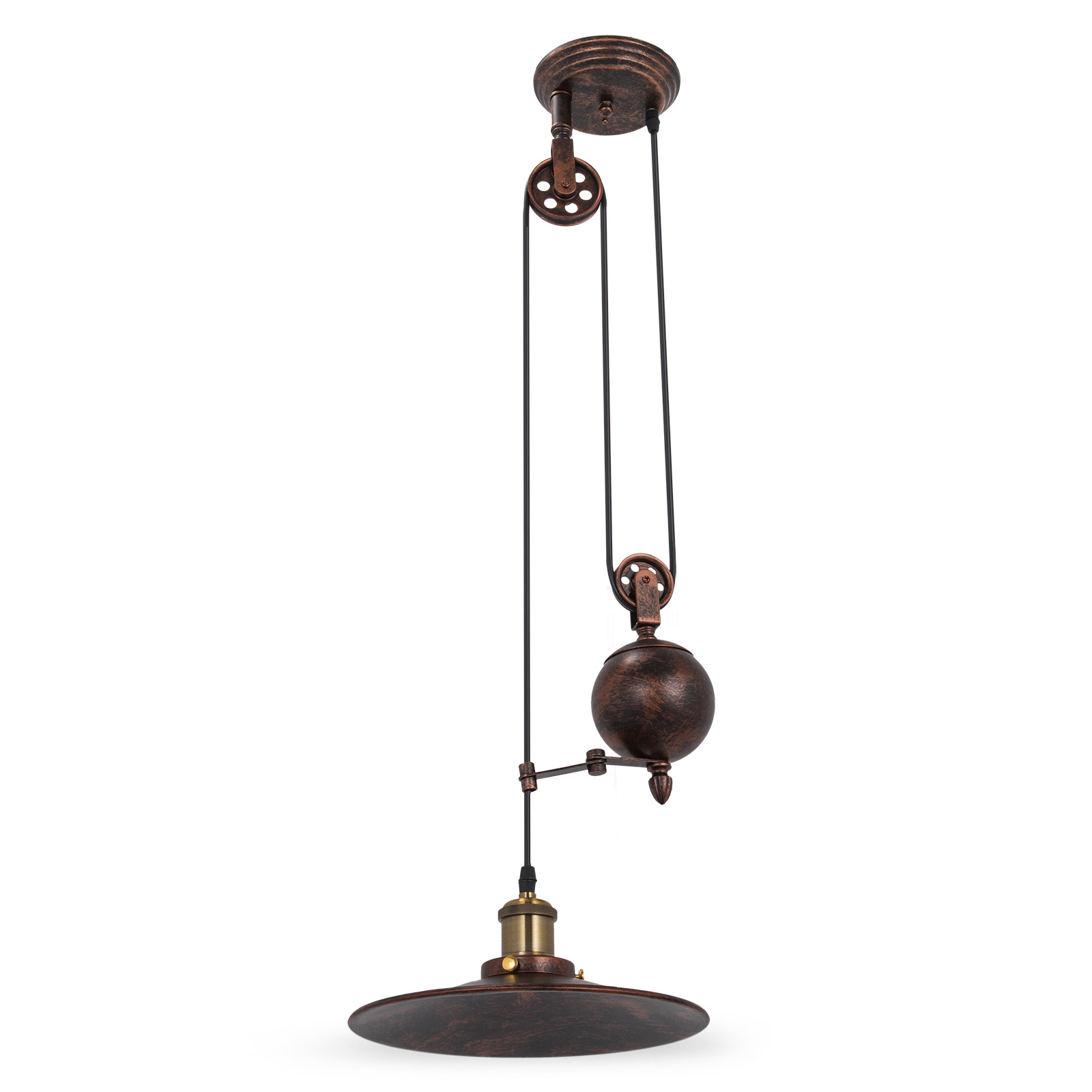 Old Industrial Pendant Light: Industrial Retro Vintage Hanging Ceiling Light Pendant