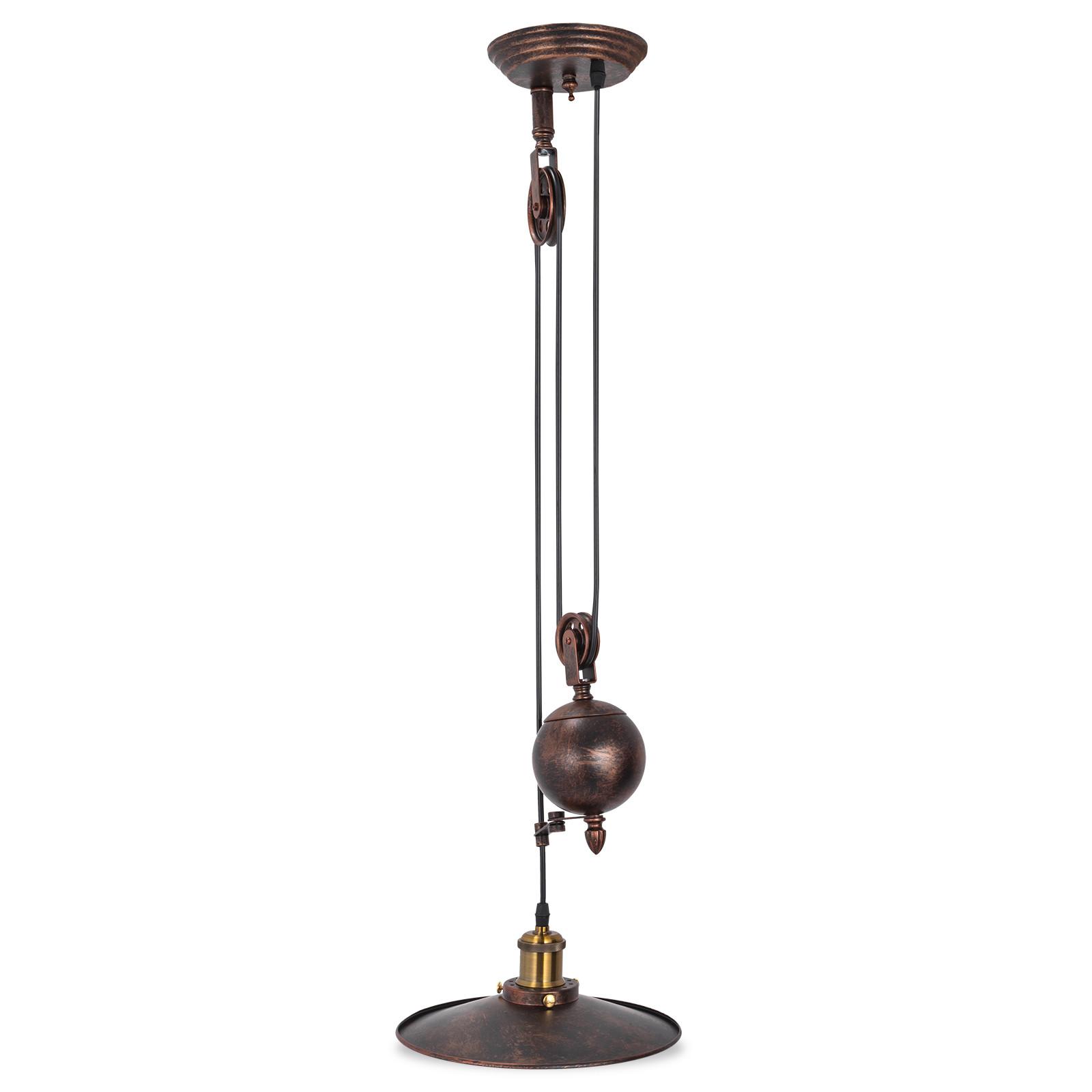 Industriale Vintage Lampadario rustico soggiorno metallo ...