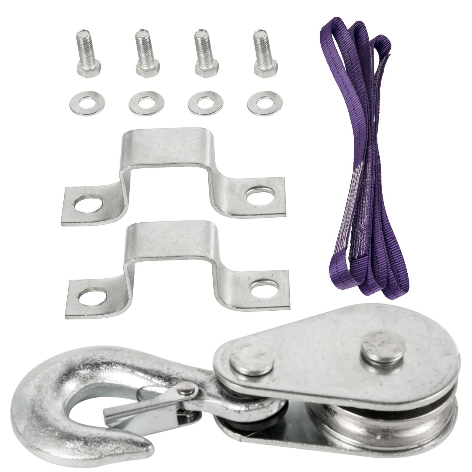 100kg-900kg-Electric-Hoist-Winch-Lifting-Engine-Crane-Cable-Lift-Hook-Garage miniature 81