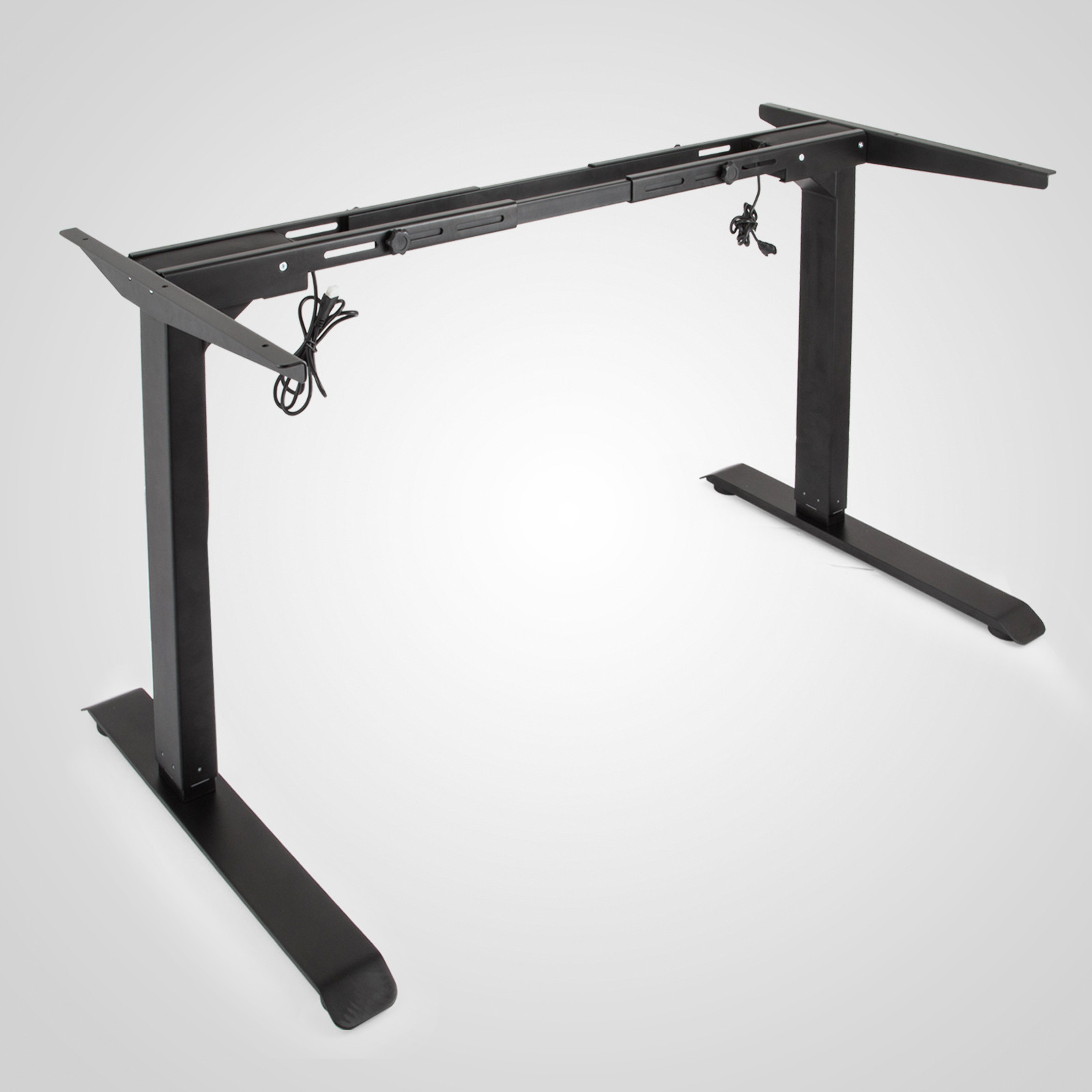 Electric-Sit-Stand-Standing-Desk-Frame-Dual-Motor-Stable-Heavy-Duty-Premium thumbnail 15
