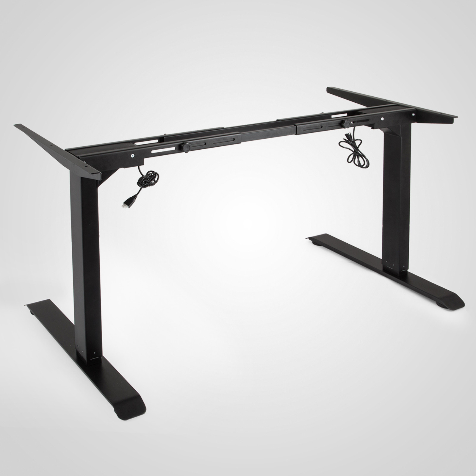 Electric-Sit-Stand-Standing-Desk-Frame-Dual-Motor-Stable-Heavy-Duty-Premium thumbnail 17