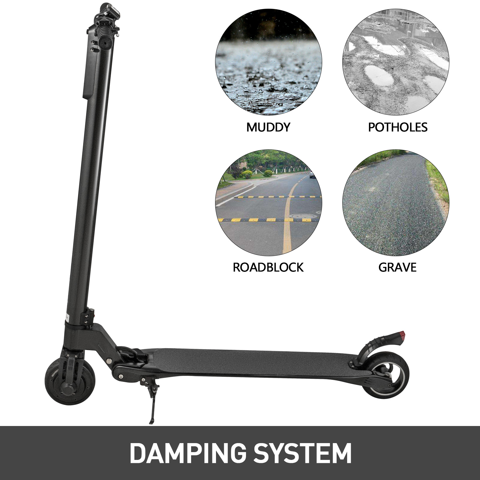 5-034-Electric-Scooter-8-8-amp-10-4Ah-Ultralight-Foldable-Skateboard-For-Adult-Teenage thumbnail 17