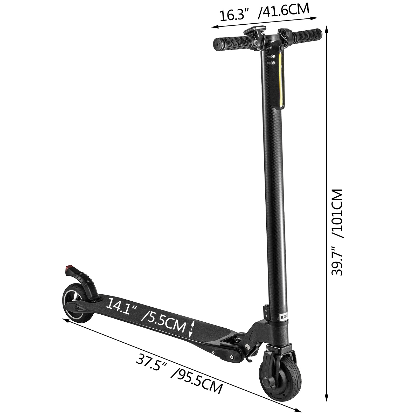 5-034-Electric-Scooter-8-8-amp-10-4Ah-Ultralight-Foldable-Skateboard-For-Adult-Teenage thumbnail 20