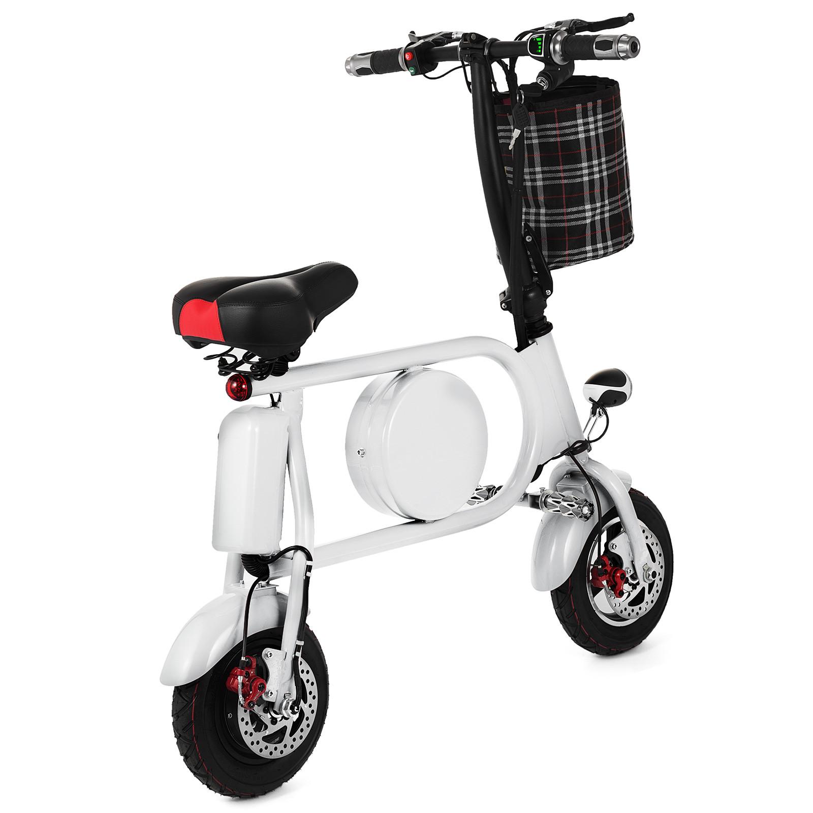 Folding-Electric-Bicycle-E-Bike-36v-battery-amp-400-Watt-Motor-Portable-eBike-FF thumbnail 40
