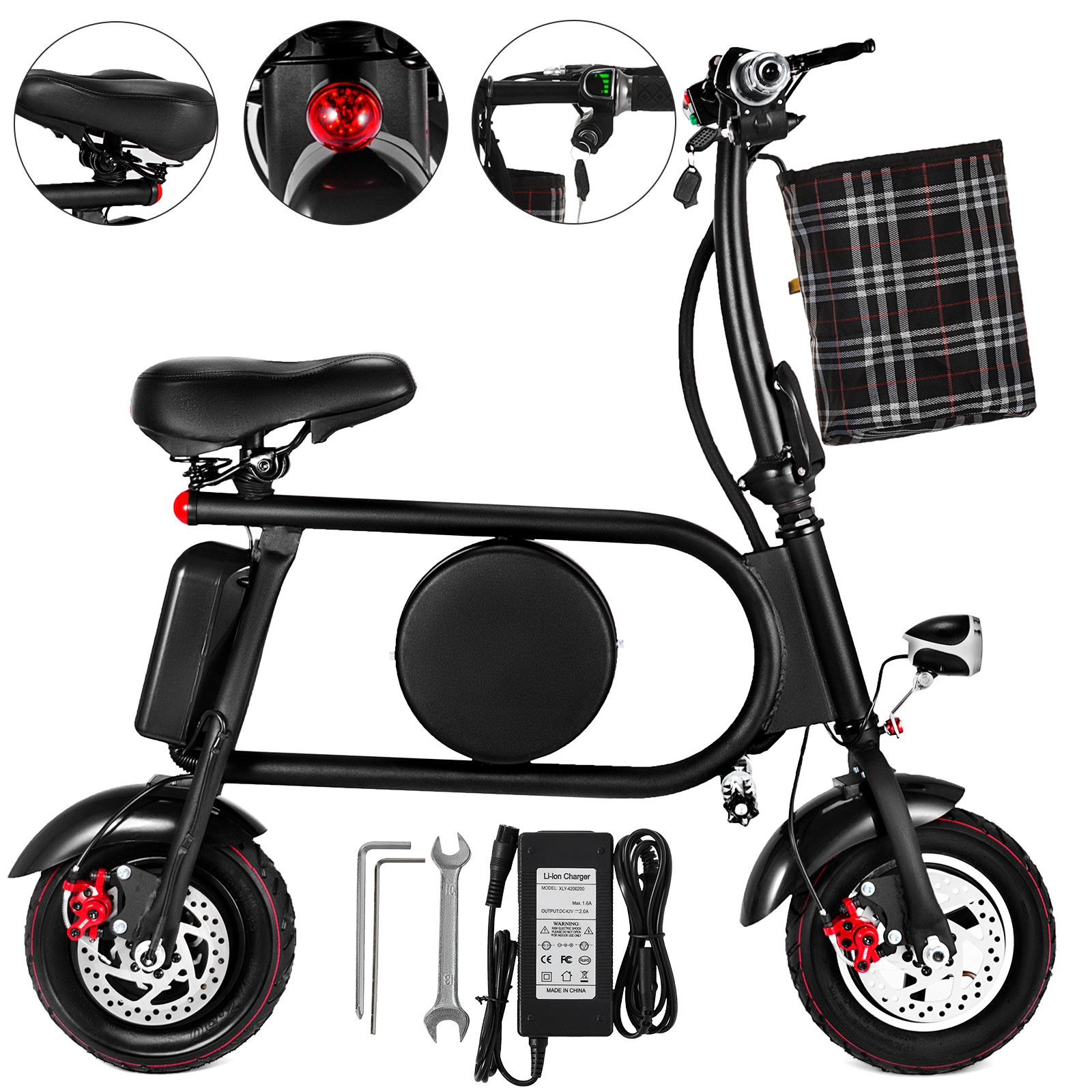 Folding-Electric-Bicycle-E-Bike-36v-battery-amp-400-Watt-Motor-Portable-eBike-FF thumbnail 49