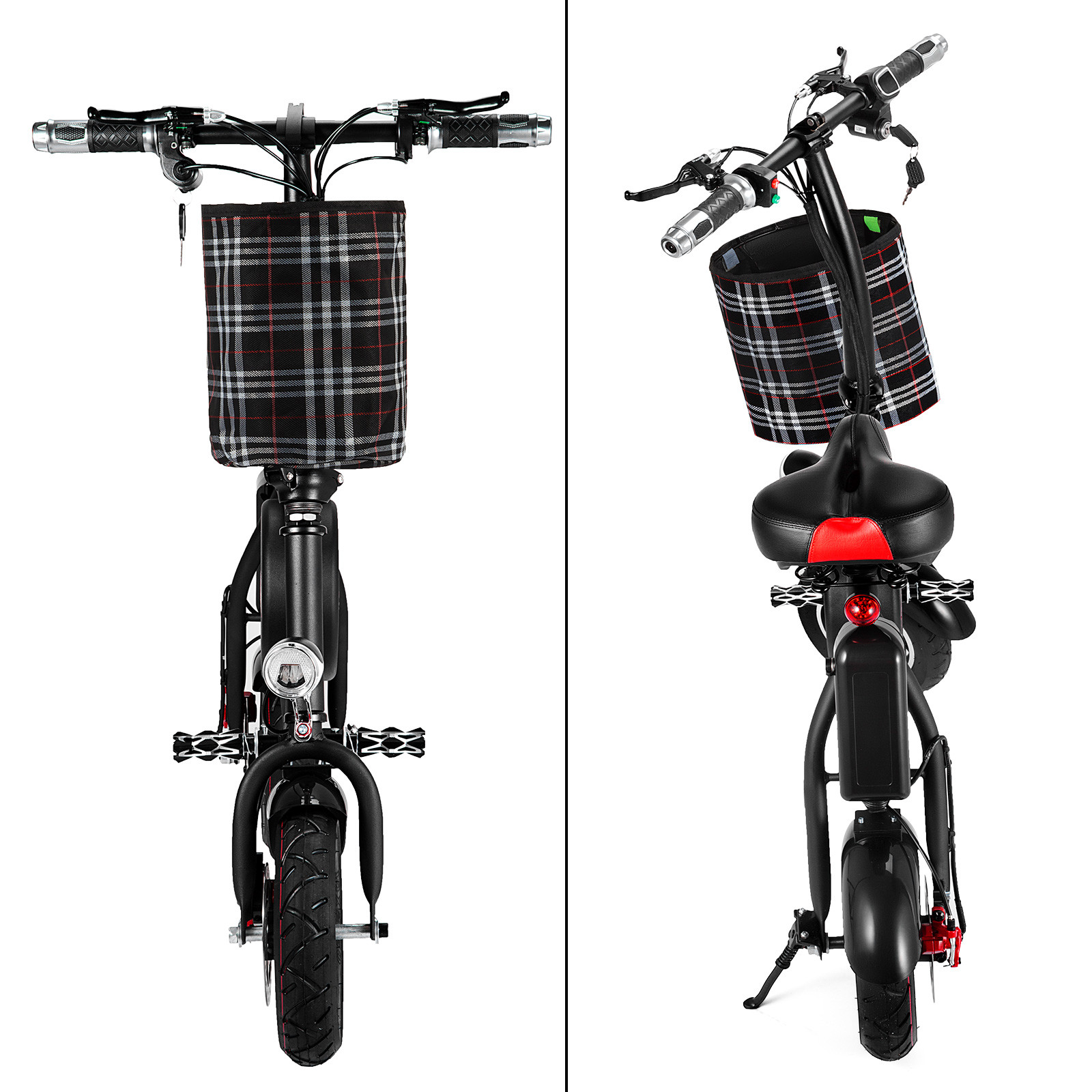 Folding-Electric-Bicycle-E-Bike-36v-battery-amp-400-Watt-Motor-Portable-eBike-FF thumbnail 51