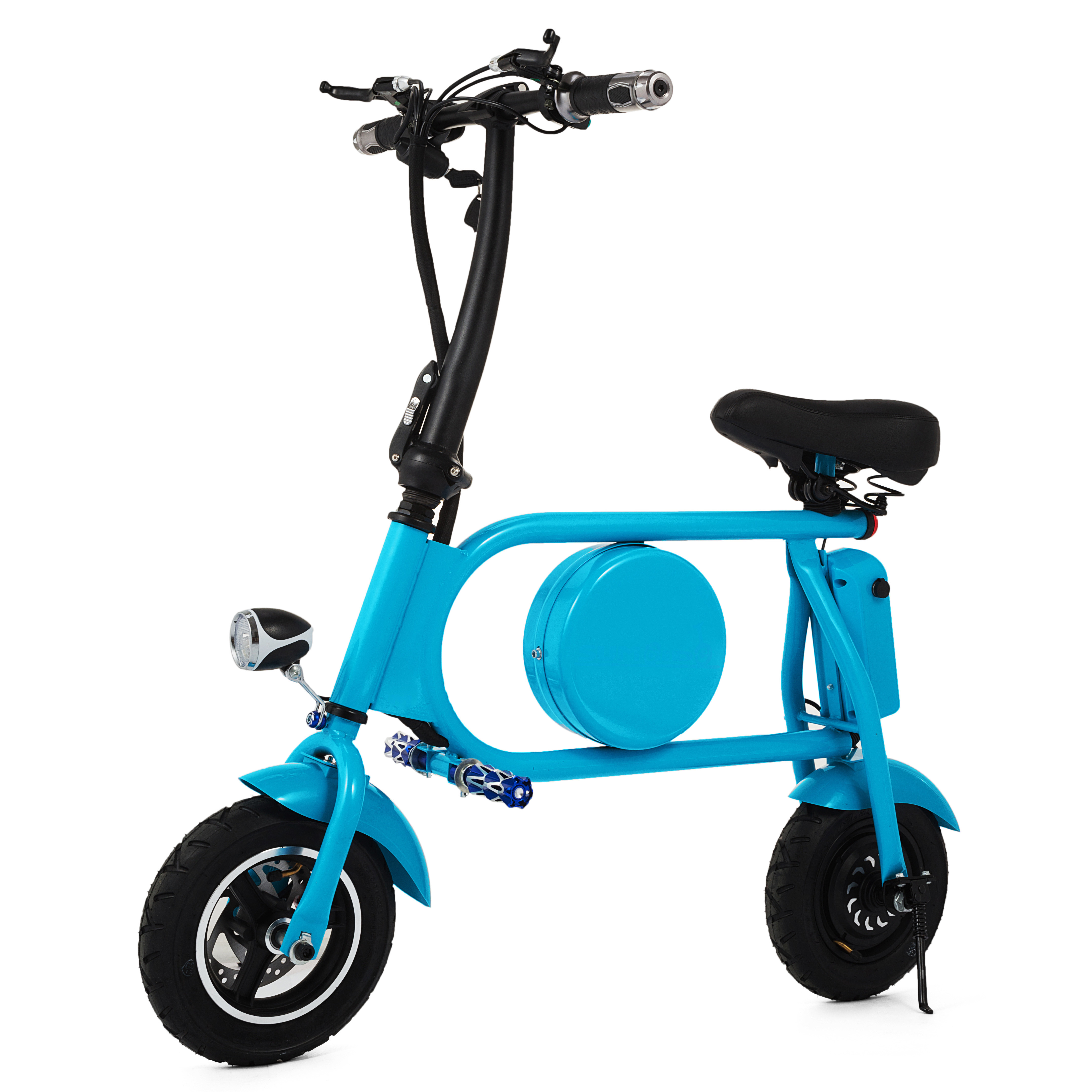Folding-Electric-Bicycle-E-Bike-36v-battery-amp-400-Watt-Motor-Portable-eBike-FF thumbnail 17