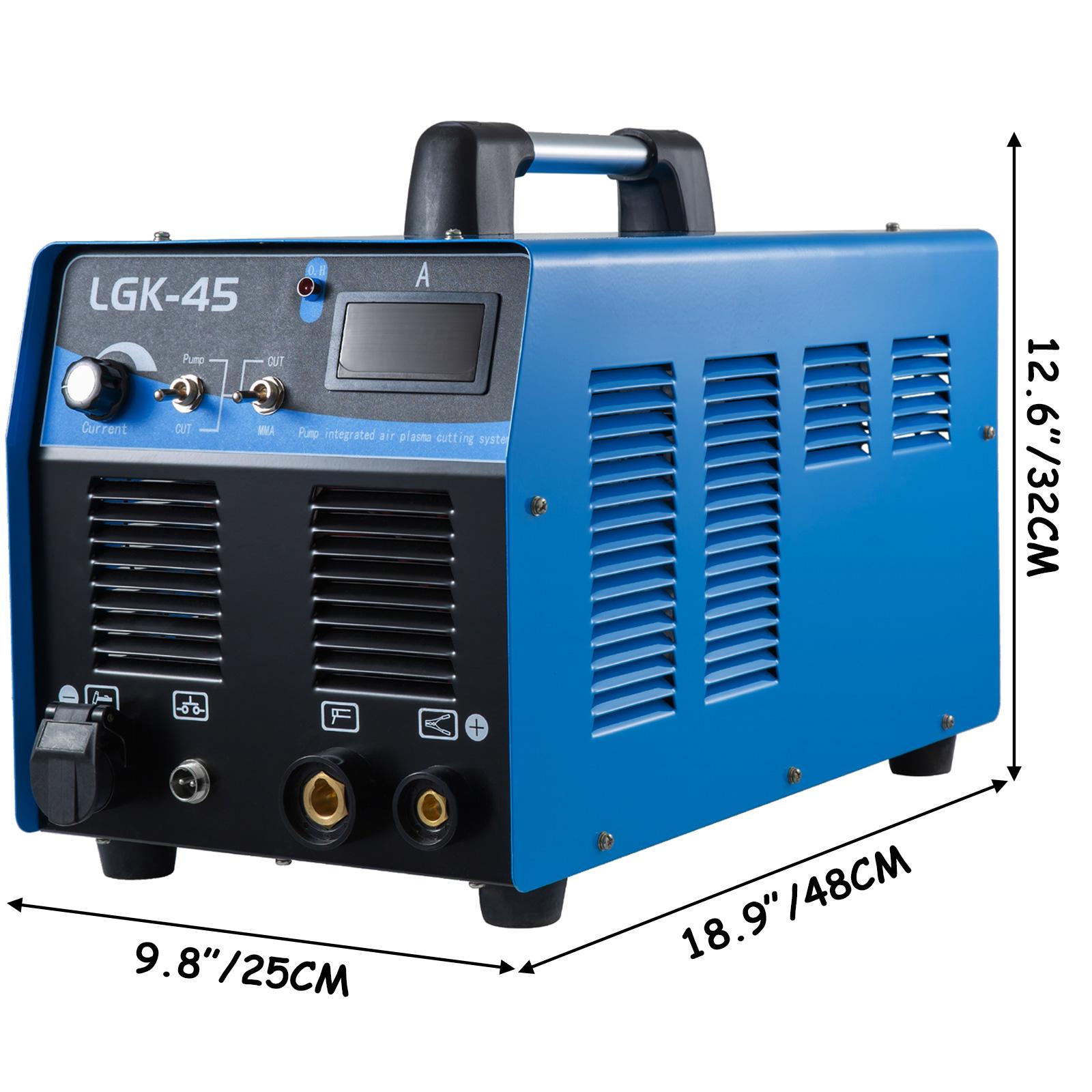 40-85A-Plasma-Cutter-Built-In-Air-Compressor-Inverter-Cutting-Machine-Cut-35mm thumbnail 32