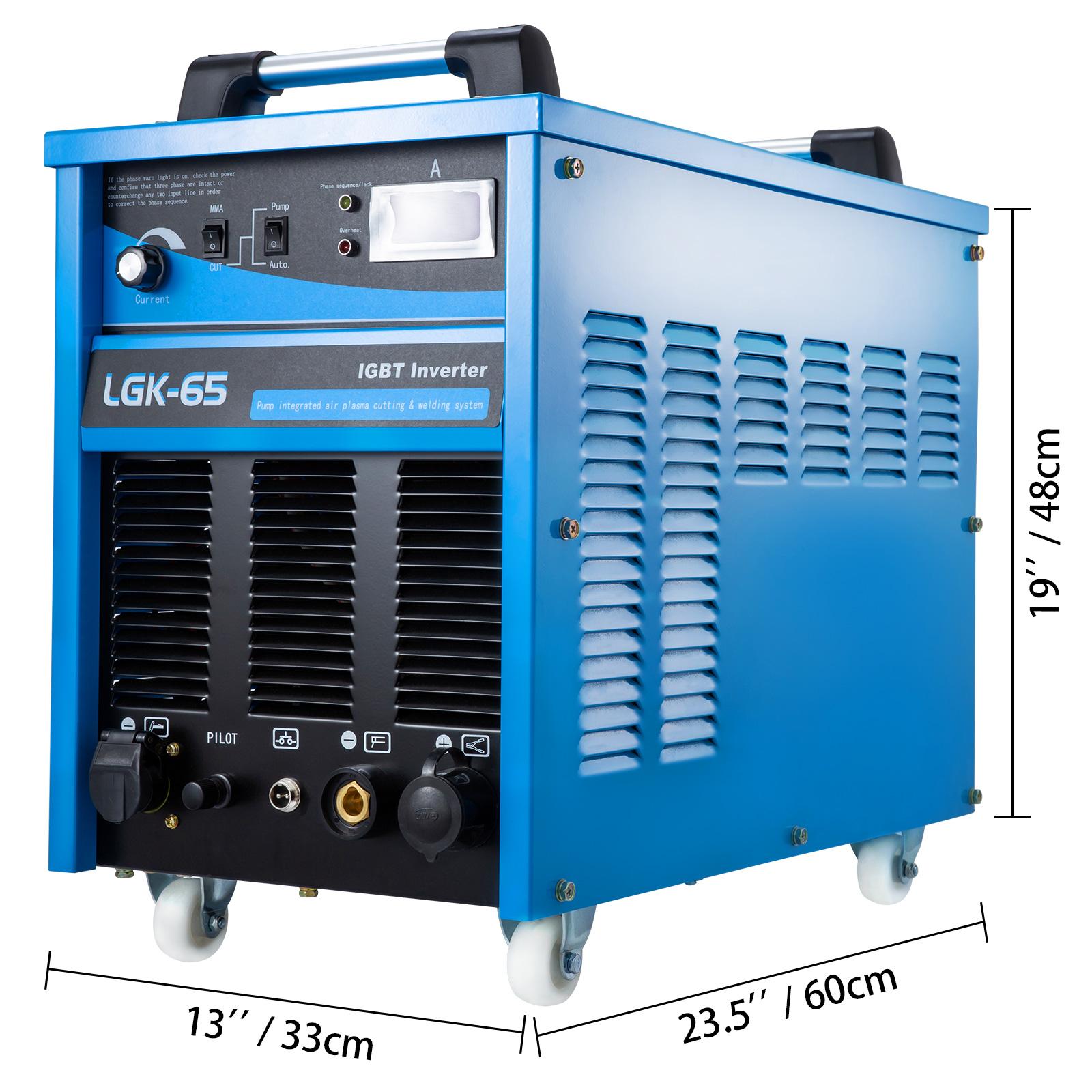 40-85A-Plasma-Cutter-Built-In-Air-Compressor-Inverter-Cutting-Machine-Cut-35mm thumbnail 44