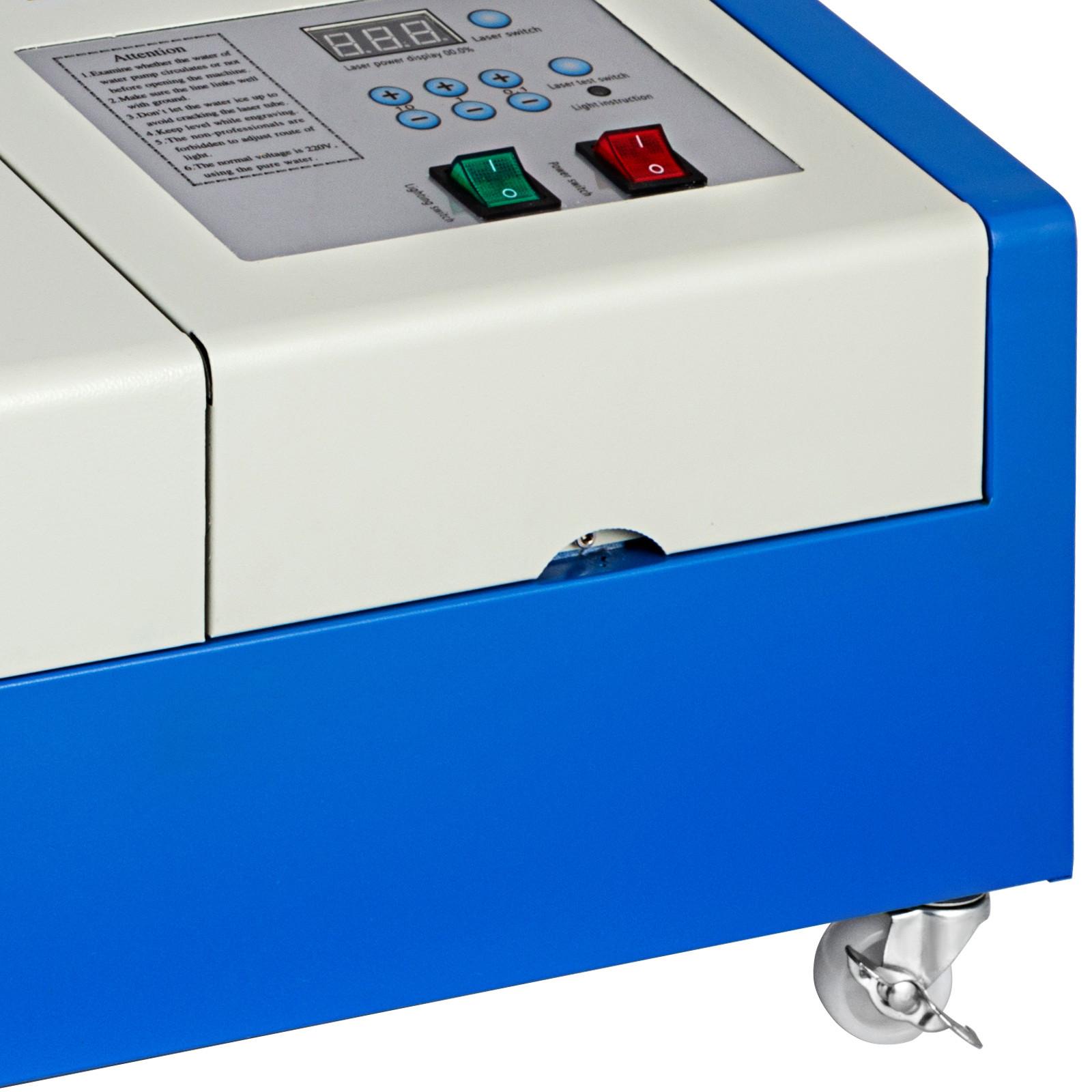 Macchina-per-Incisione-Laser-CO2-40-130W-Asse-Rotante-Tagliatrice-Incisore miniatura 103