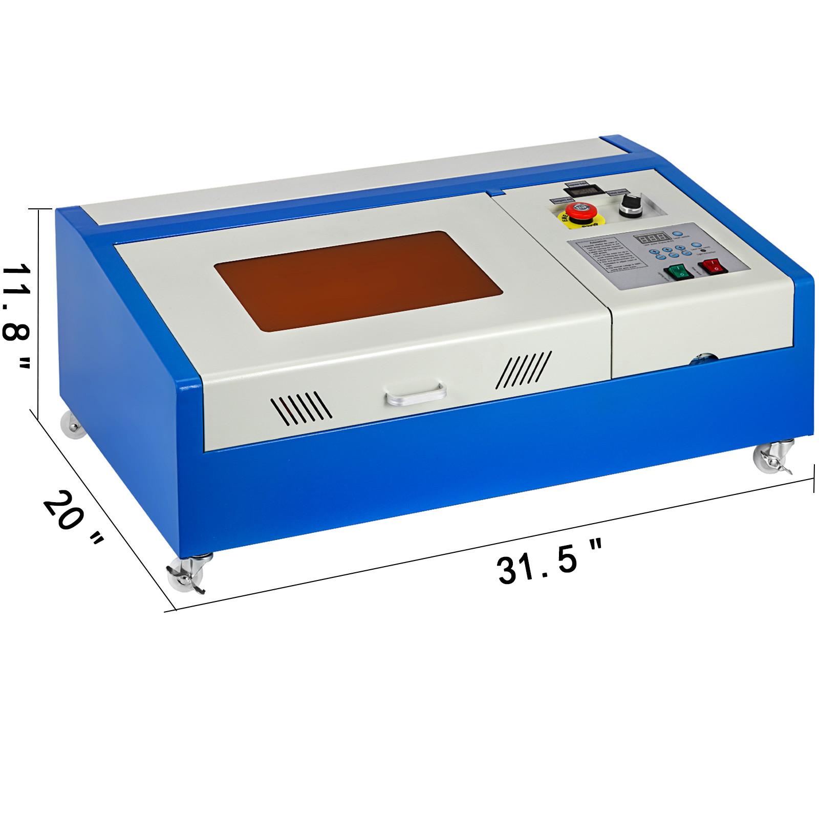 Macchina-per-Incisione-Laser-CO2-40-130W-Asse-Rotante-Tagliatrice-Incisore miniatura 95