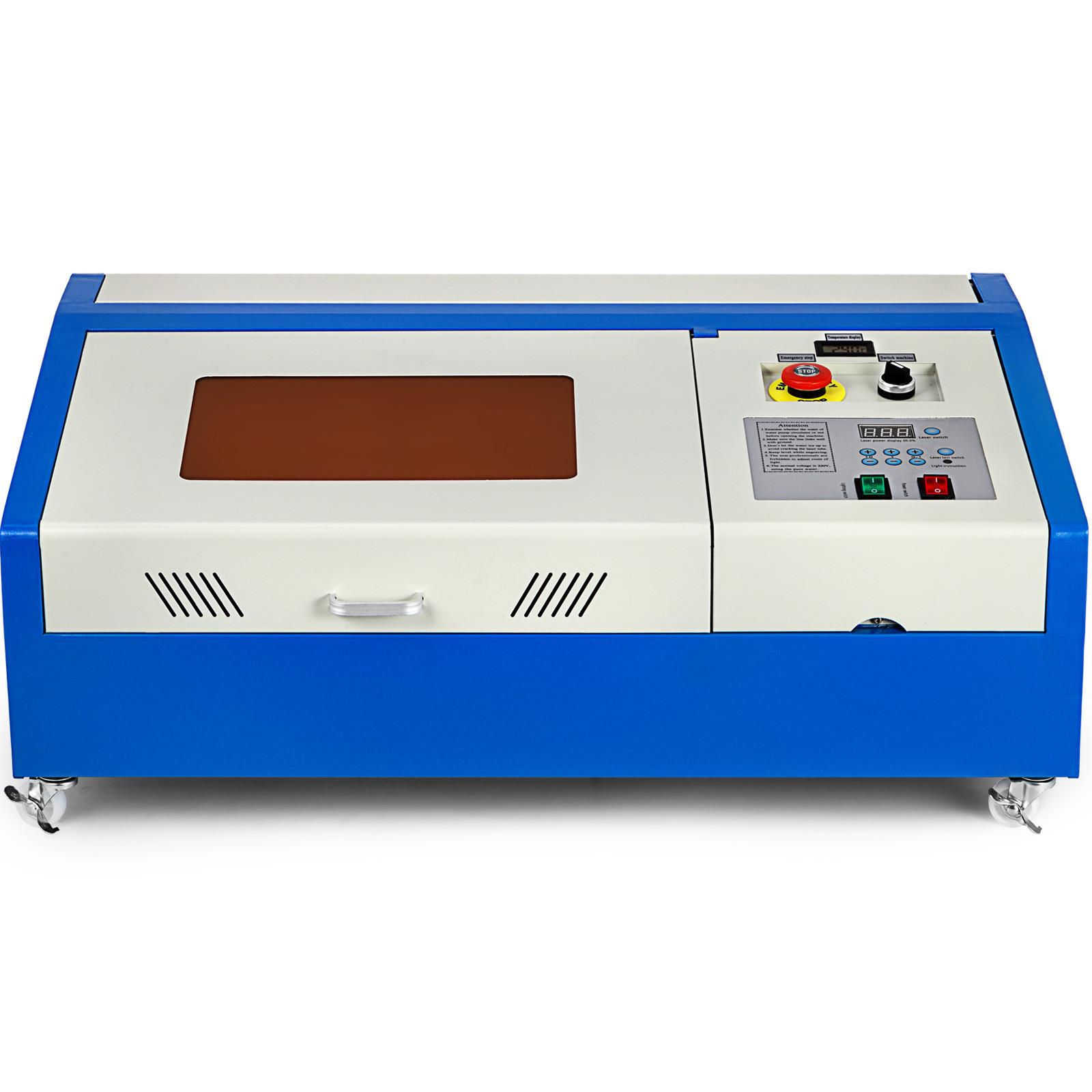 Macchina-per-Incisione-Laser-CO2-40-130W-Asse-Rotante-Tagliatrice-Incisore miniatura 96