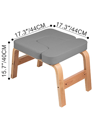 headstand bench fitness yoga handstand chair inversion