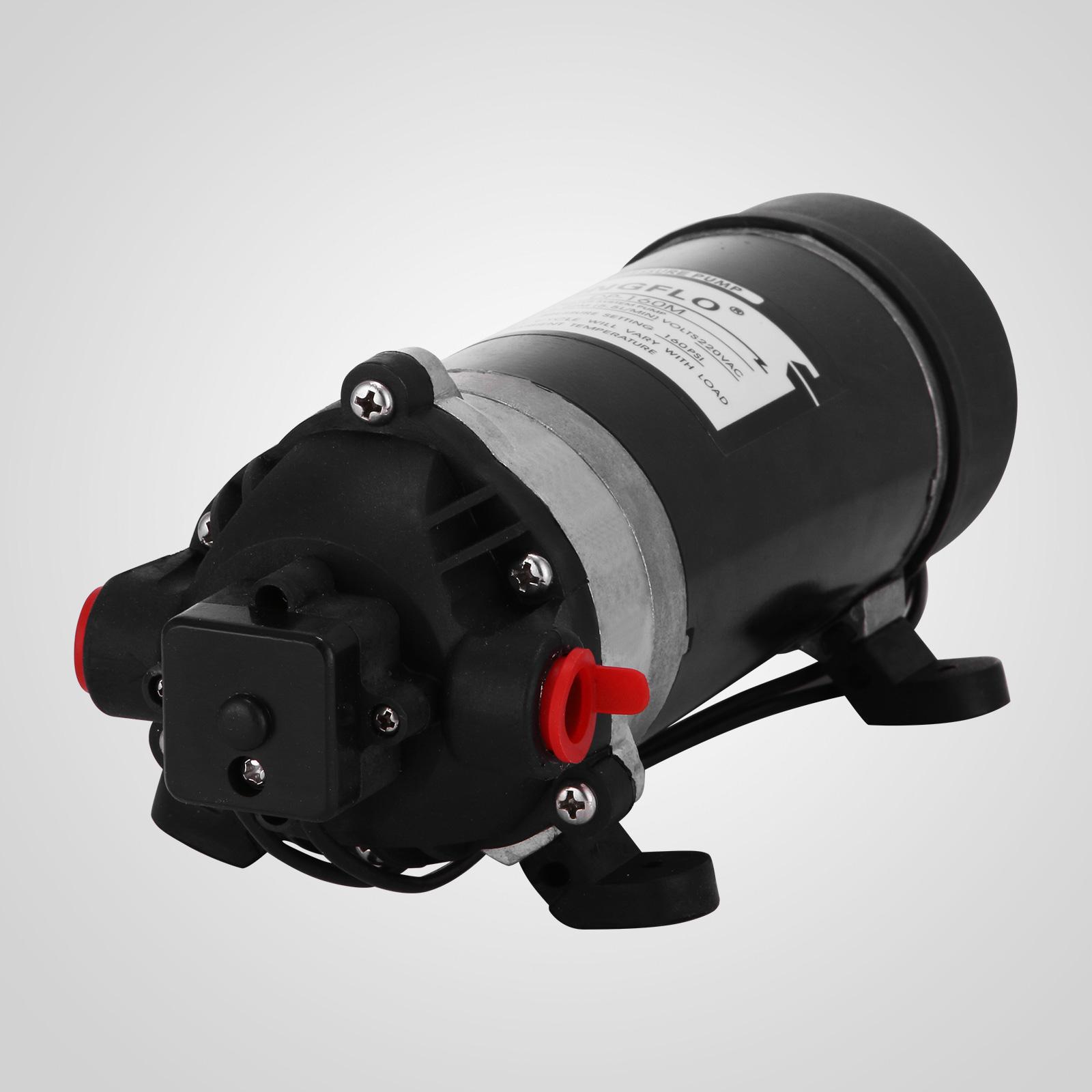 12V 60PSI Druckwasserpumpe Hochdruck Membranpumpe  Caravan  Automatik  Auto