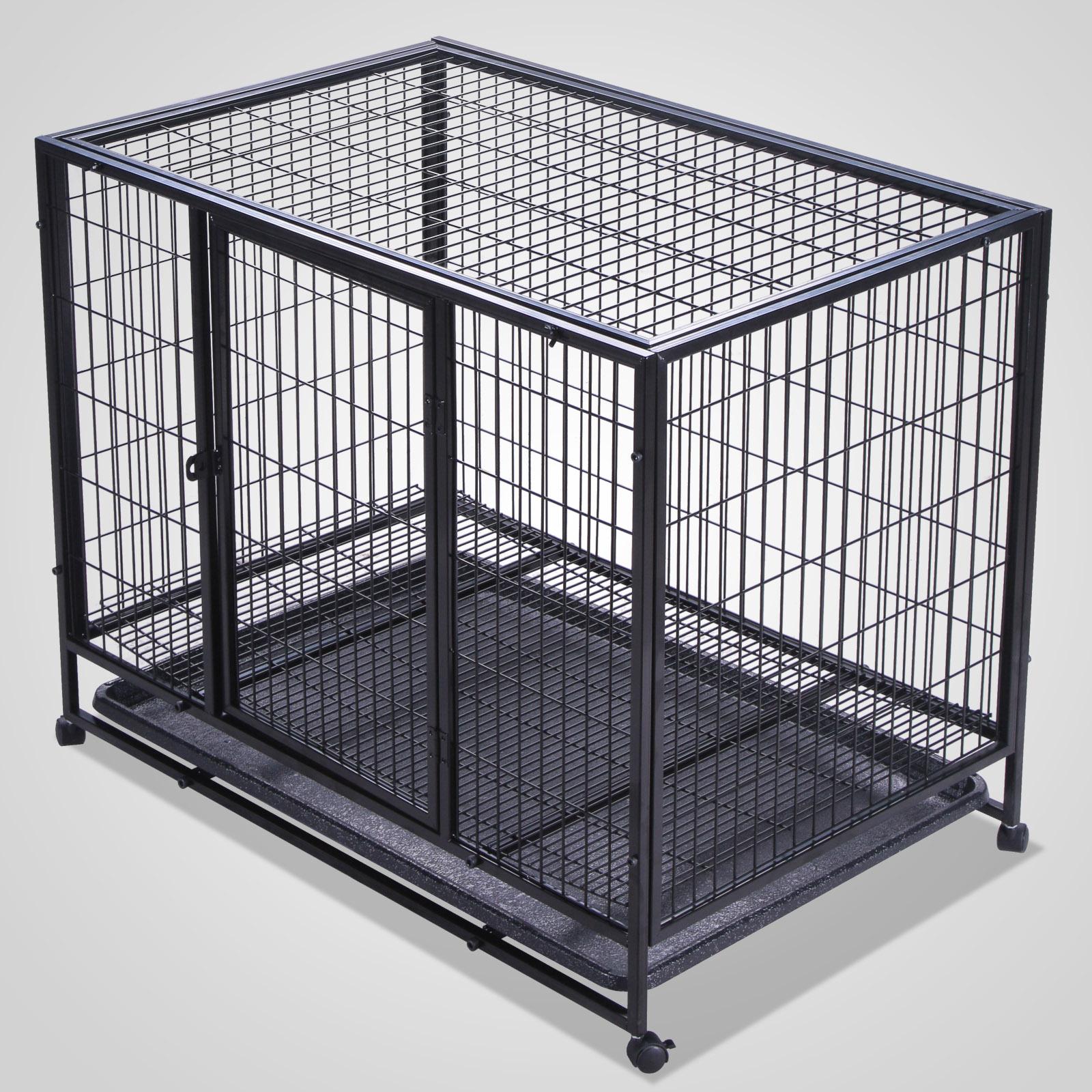 37-42-48-Heavy-Duty-Rolling-Dog-Crate-