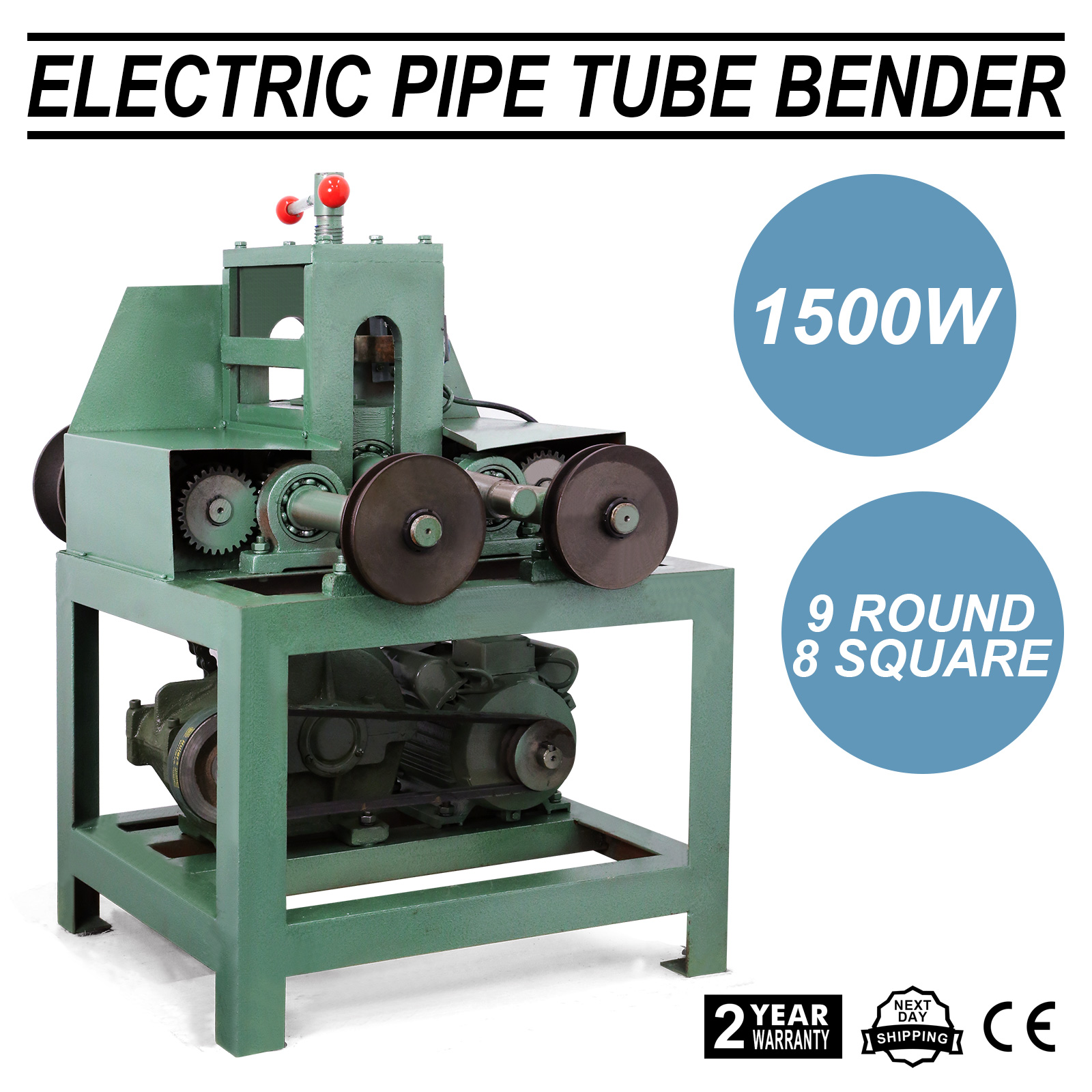 Details about 110 Volt Electric Tube Pipe Bender Roller Round-5/8-3