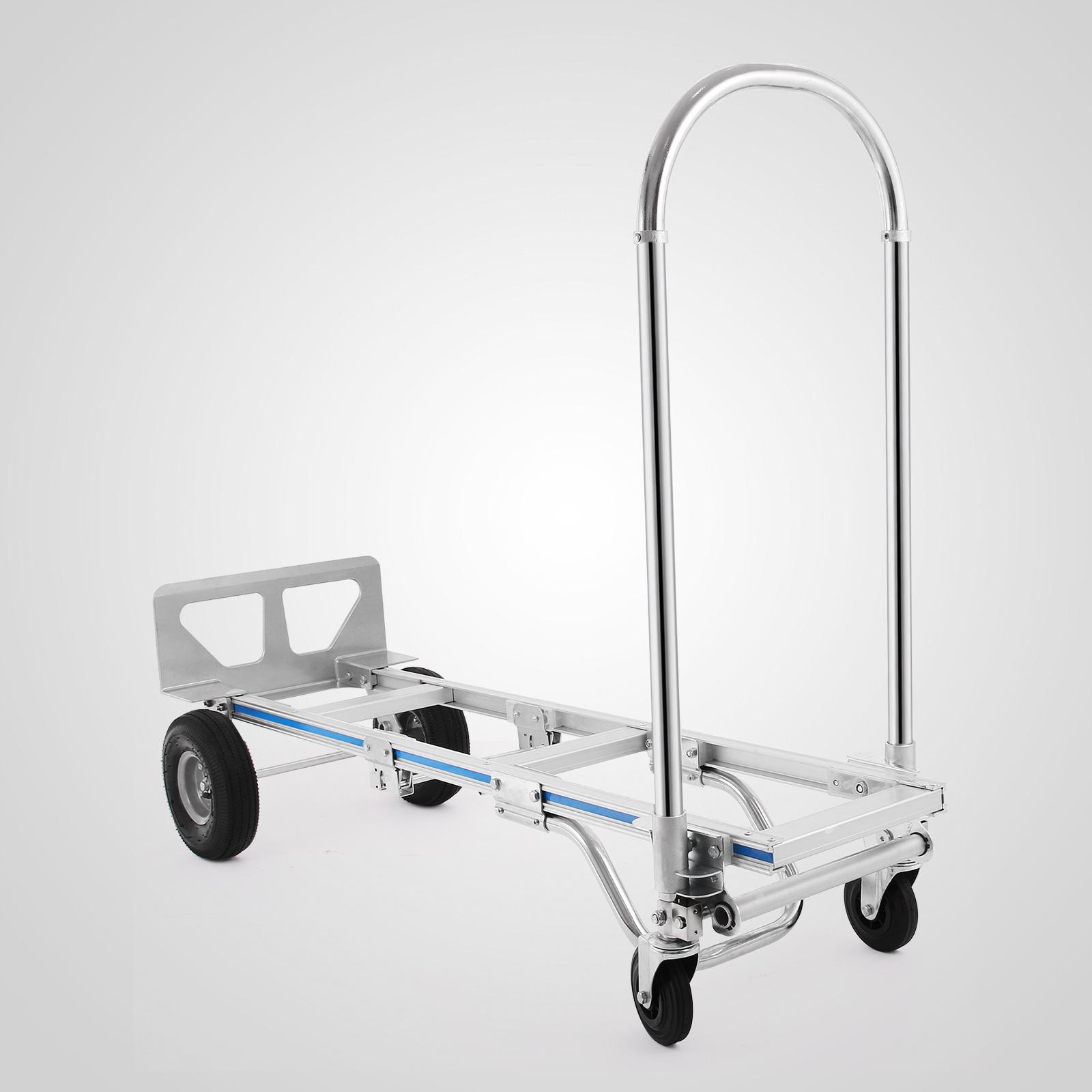 2 in 1 alu - sackkarre, stapelkarre 400 kg tragkraft expresso | ebay
