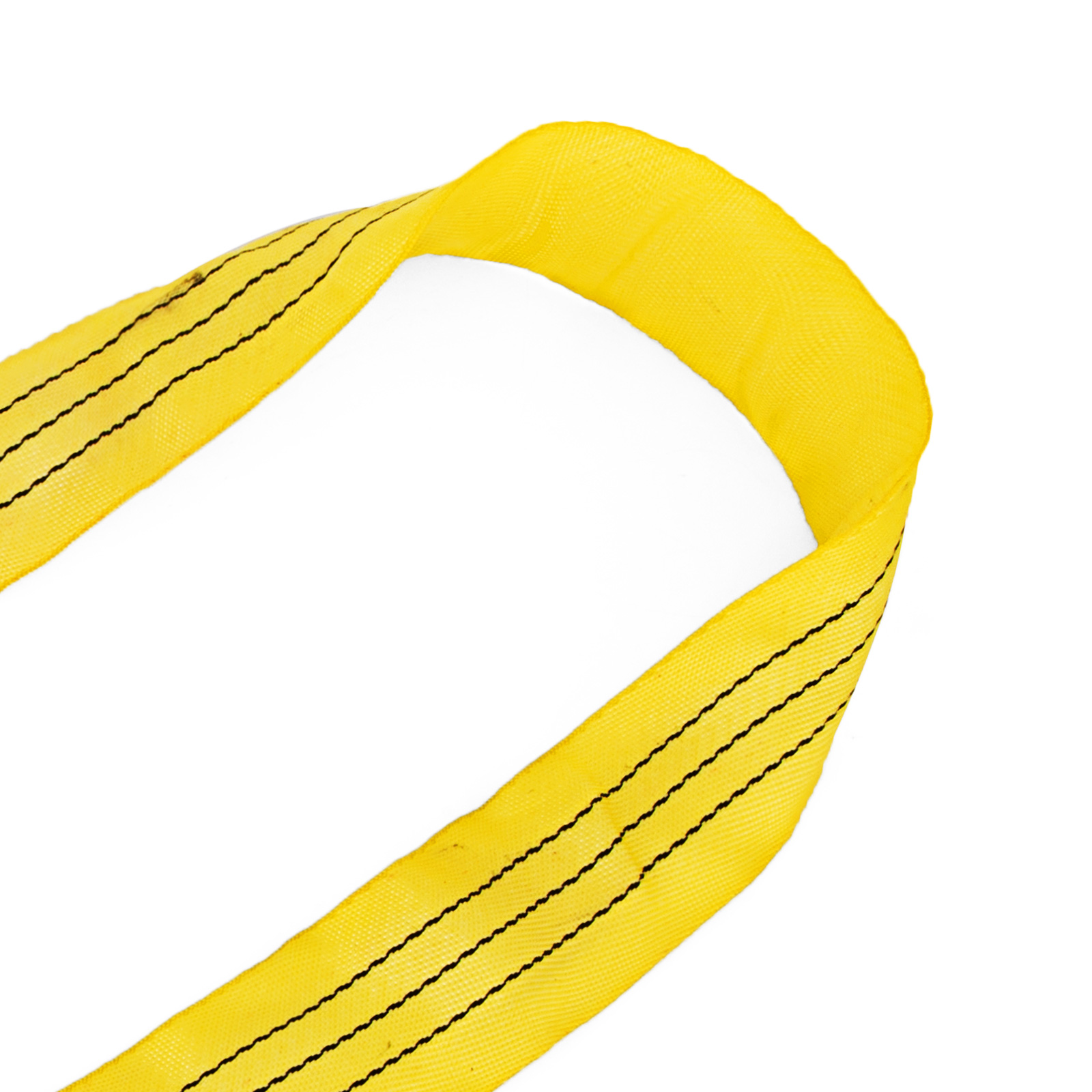 2PCS 6Ft Perimeter 6600lbs Endless Round Lifting Sling Strap 1.8M//6ft Yellow