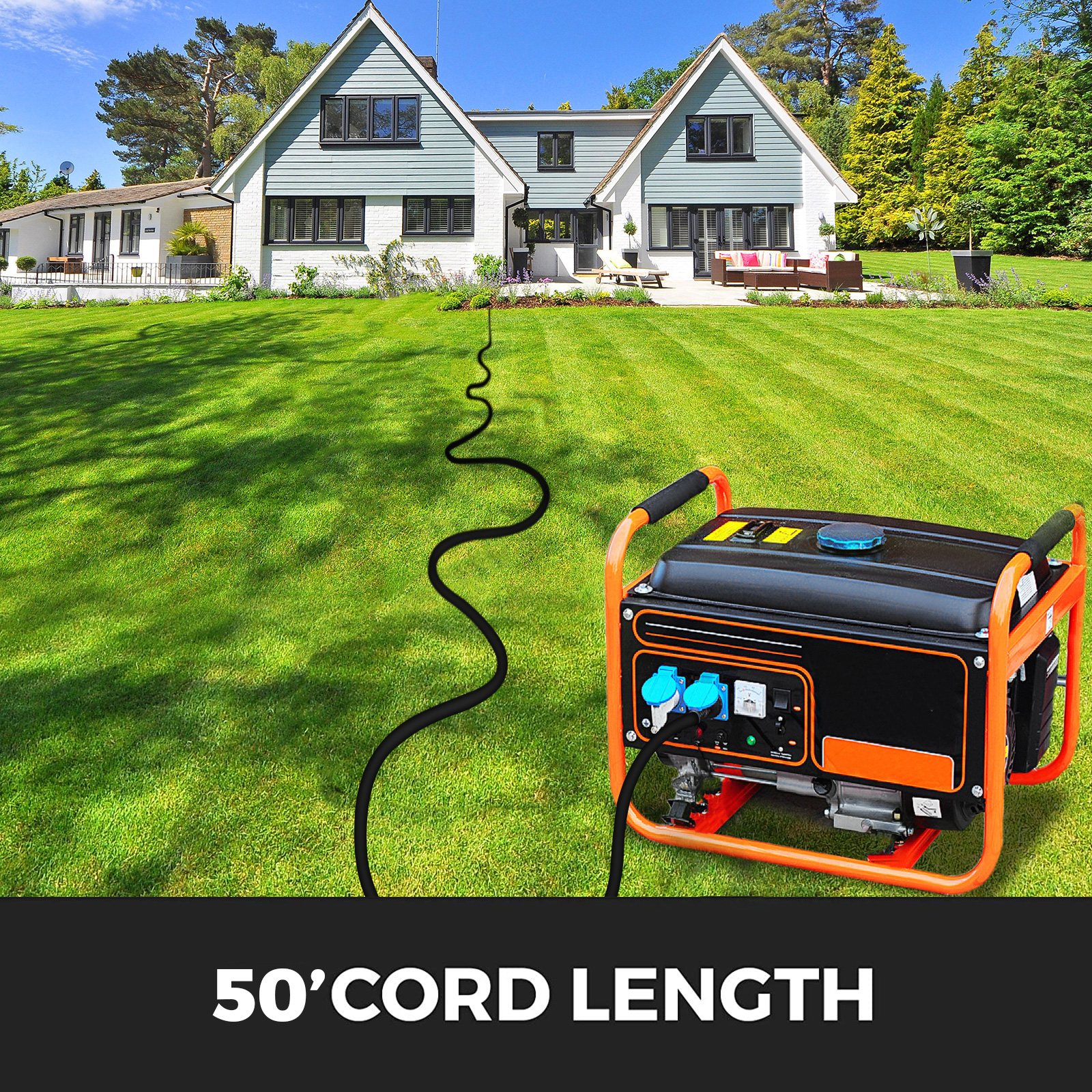 Generator-Extension-Cord-10-50ft-10-4-Power-Cable-30A-Adapter-Plug-Copper-Wire miniature 76