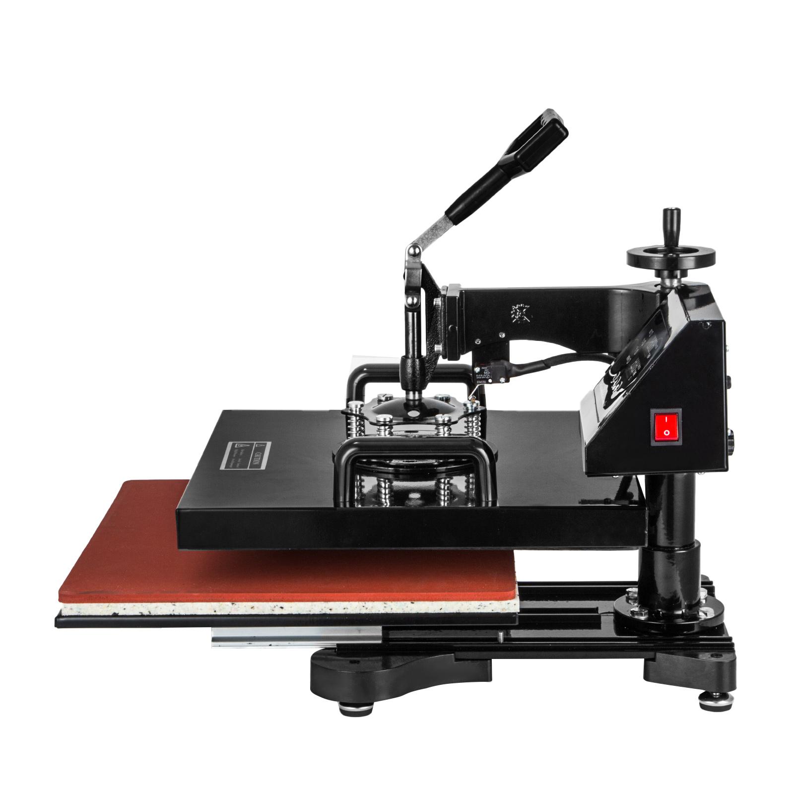 presse textile 5in1 presse chaud taille 38 x 38 cm neuf impression textile ebay. Black Bedroom Furniture Sets. Home Design Ideas