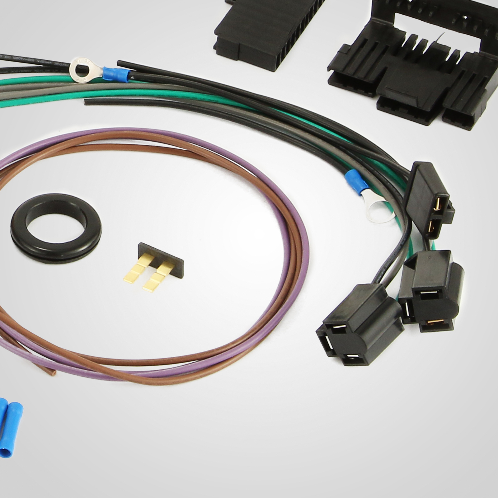 ez wiring harness for s10 21 circuit ez wiring harness chevy universal wires install ...
