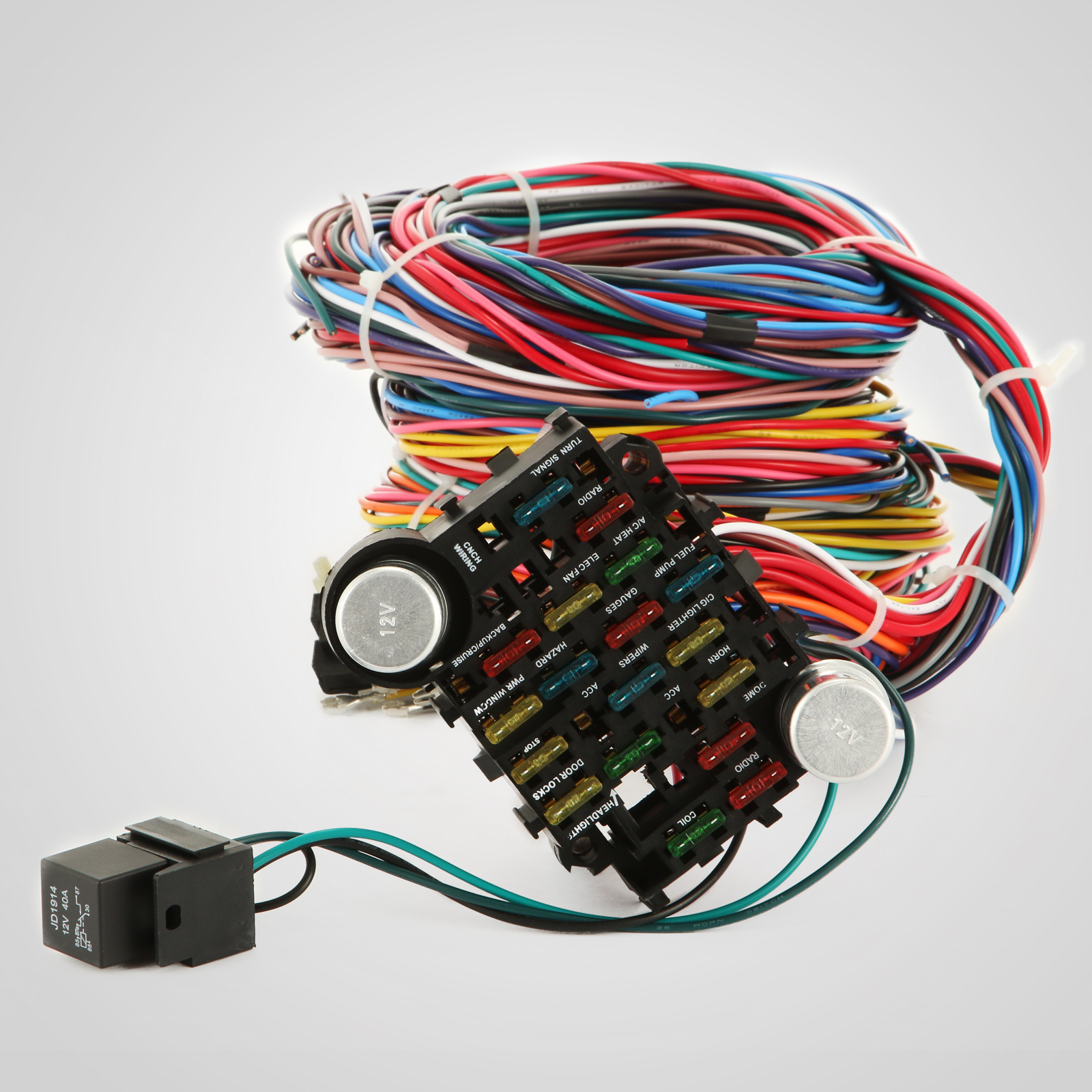 Universal Wiring Harness Instructions : Circuit ez wiring harness chevy universal wires install