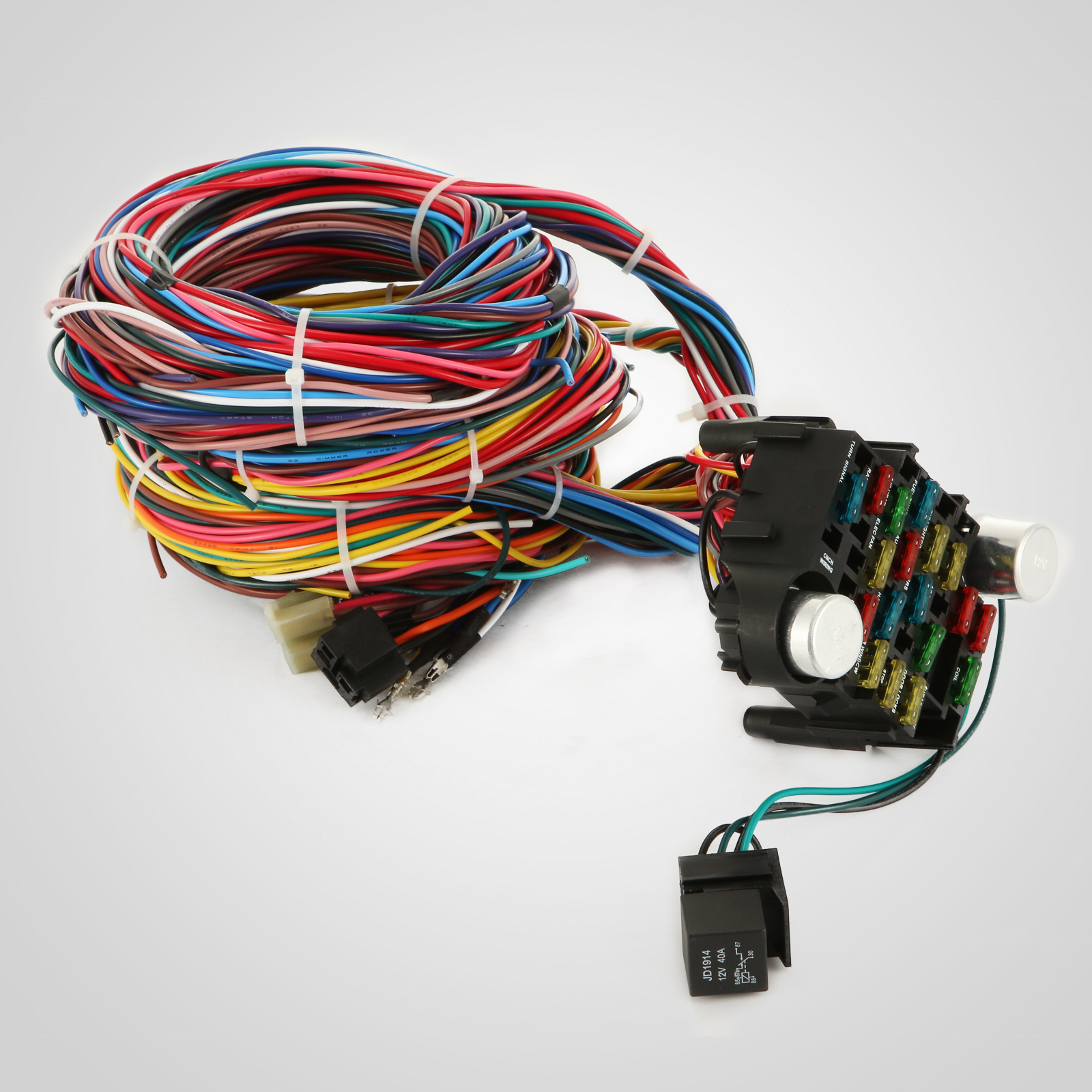 ez wiring 21 circuit harness ply hot rod wiring 21 circuit schematic 21 circuit ez wiring harness chevy universal wires install ...