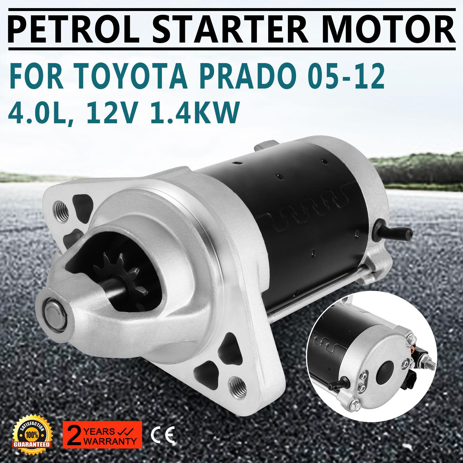 Starter Motor for Toyota Prado Petrol 2005-12 GRJ120R GRJ150R GGN25R 1GR-FE 4.0L
