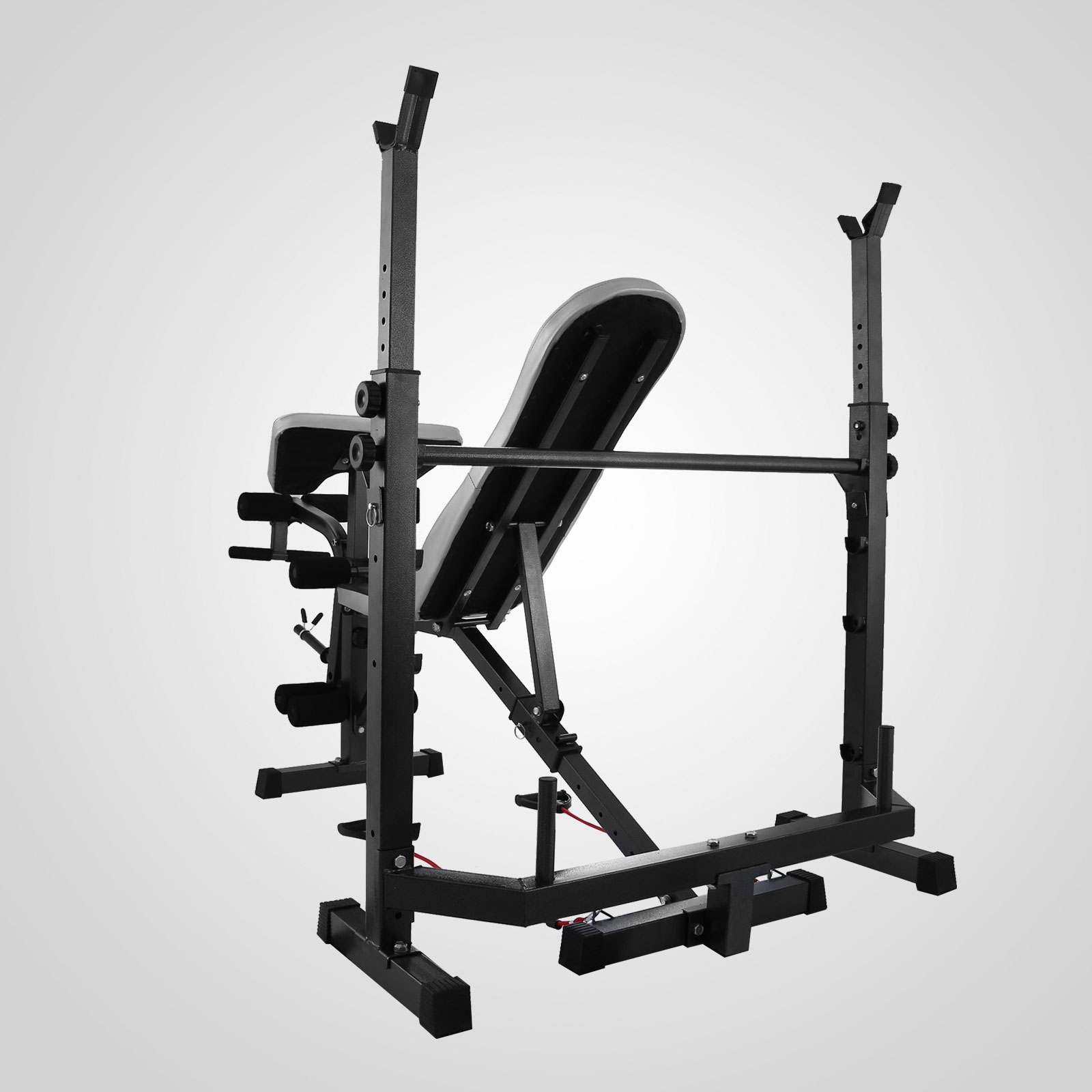 Home Gym Bench Set: Weight Bench Set Home Gym Deluxe With 660Lbs Weights
