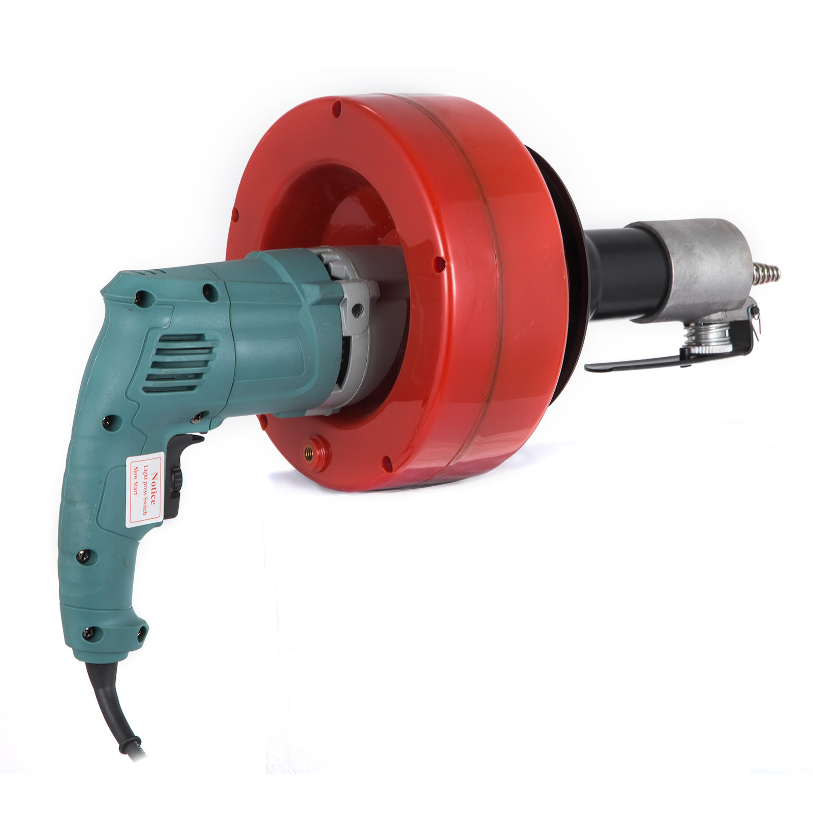 Rohrreinigungsmaschine Elektrisch Handspirale Rohrreinigungsgerät 700W 8m*8mm
