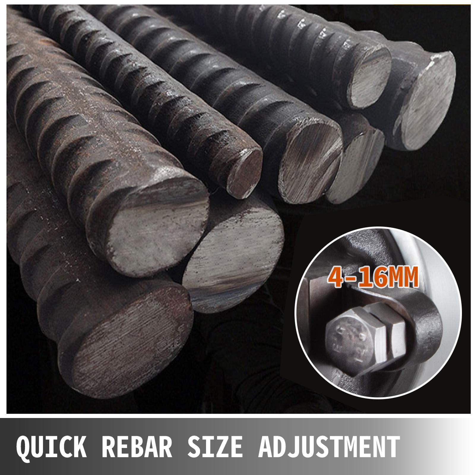 Hydraulisch Rebar Cutter Bolzenschneider Bolzen Cutter Baustahlschneider 4-16 mm