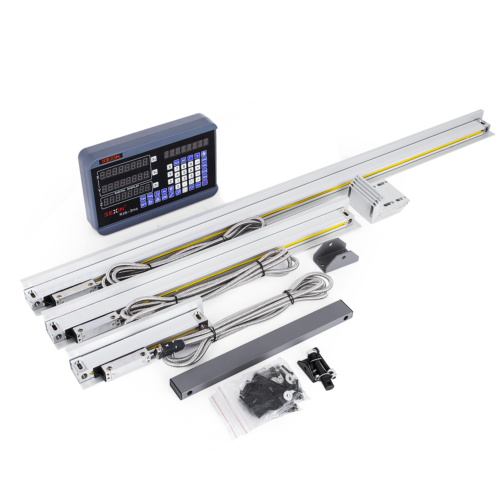 3 Axis 450-500-1000 Digital Readout Display DRO Display Milling Grinding GREAT