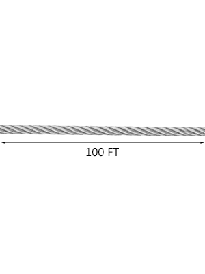 Details about  /T316 Stainless Steel Cable 1//8Inch 7x7 Steel Wire Rope Cable 100//500//1000*·JUTU