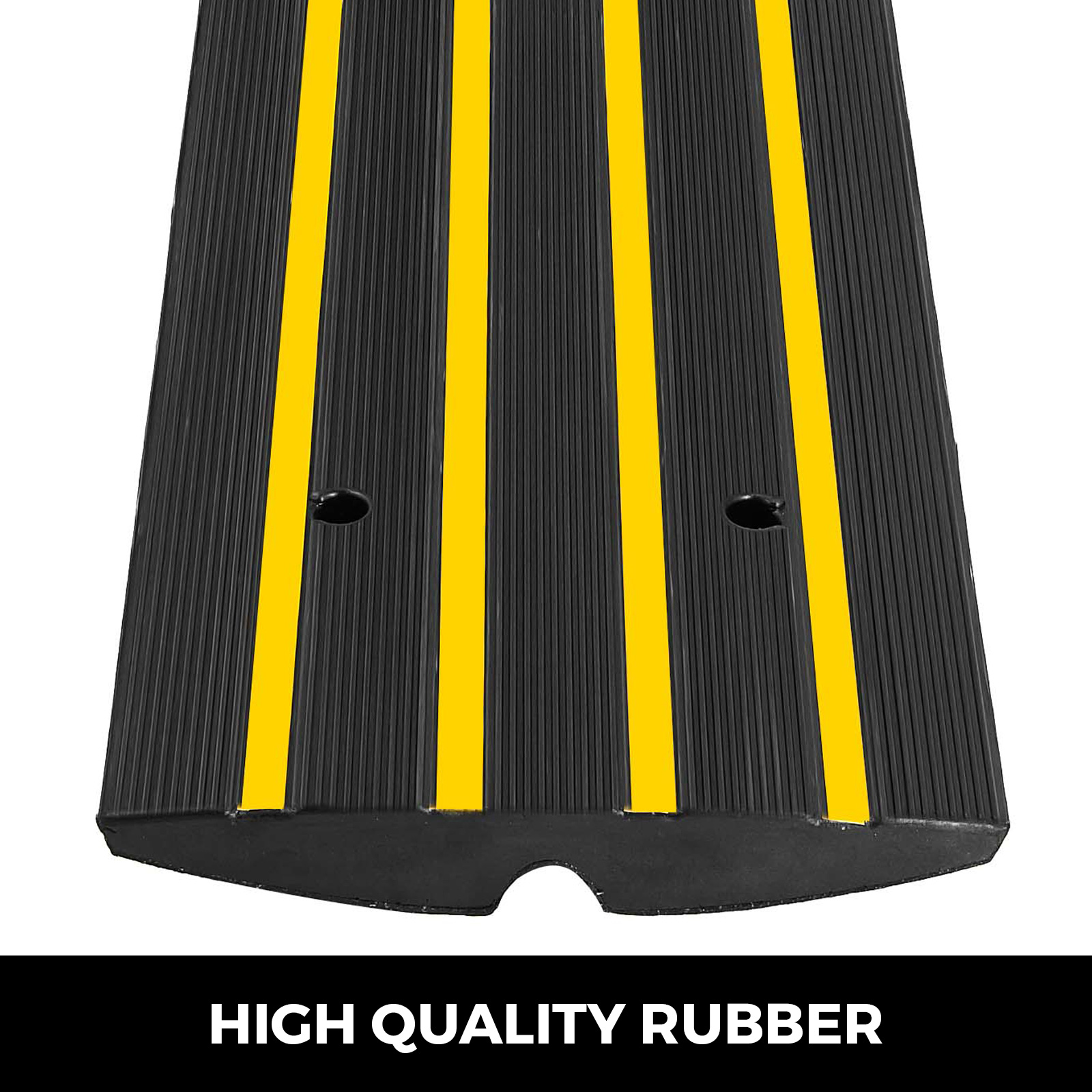 Rubber Slow Down Device Multifunction Slope Buffer Zone Highway Dedicated 100 35 4CM DJSMxpd Curb Ramps Road Retarder