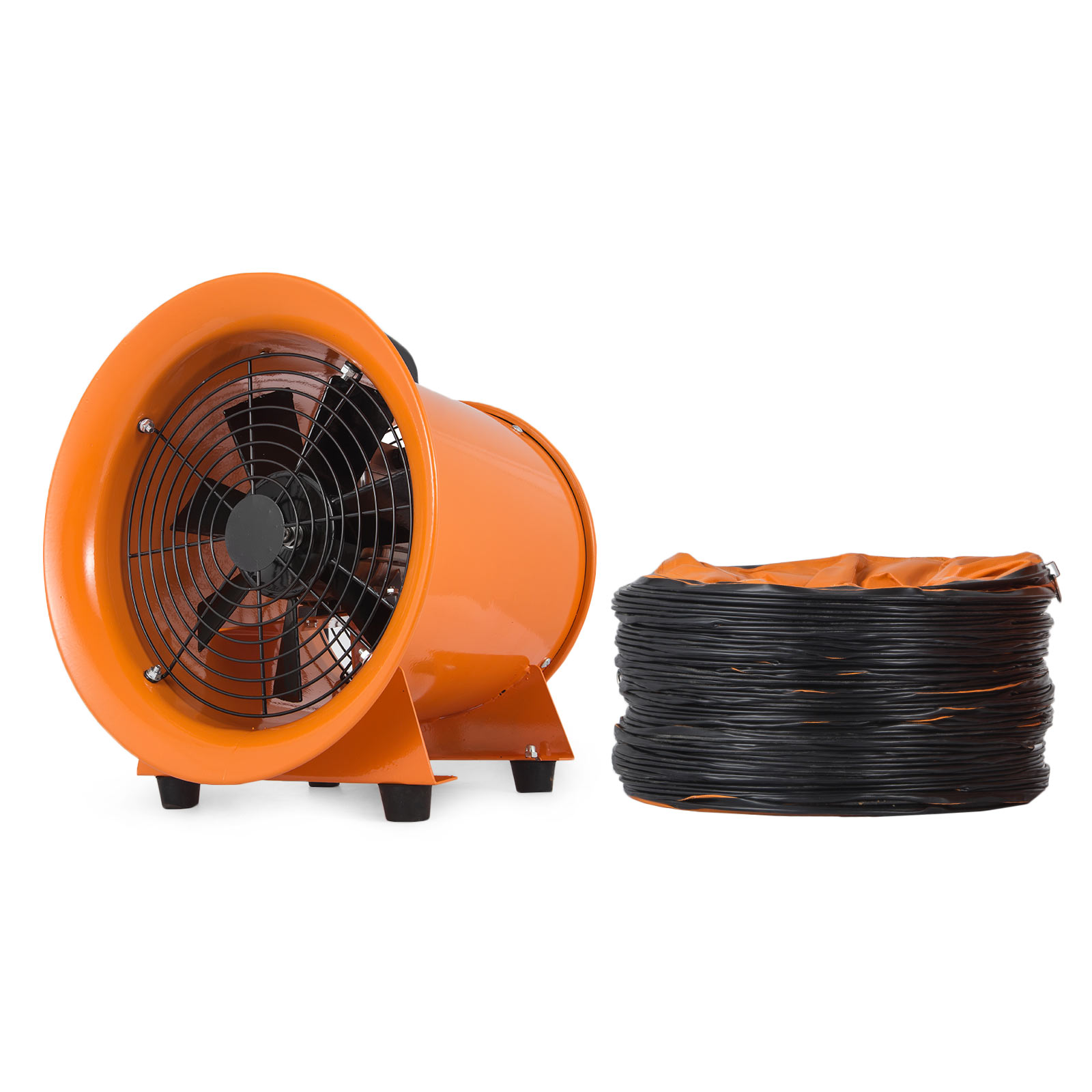 12'' Extractor Fan Blower portable 10m Duct Hose High ...
