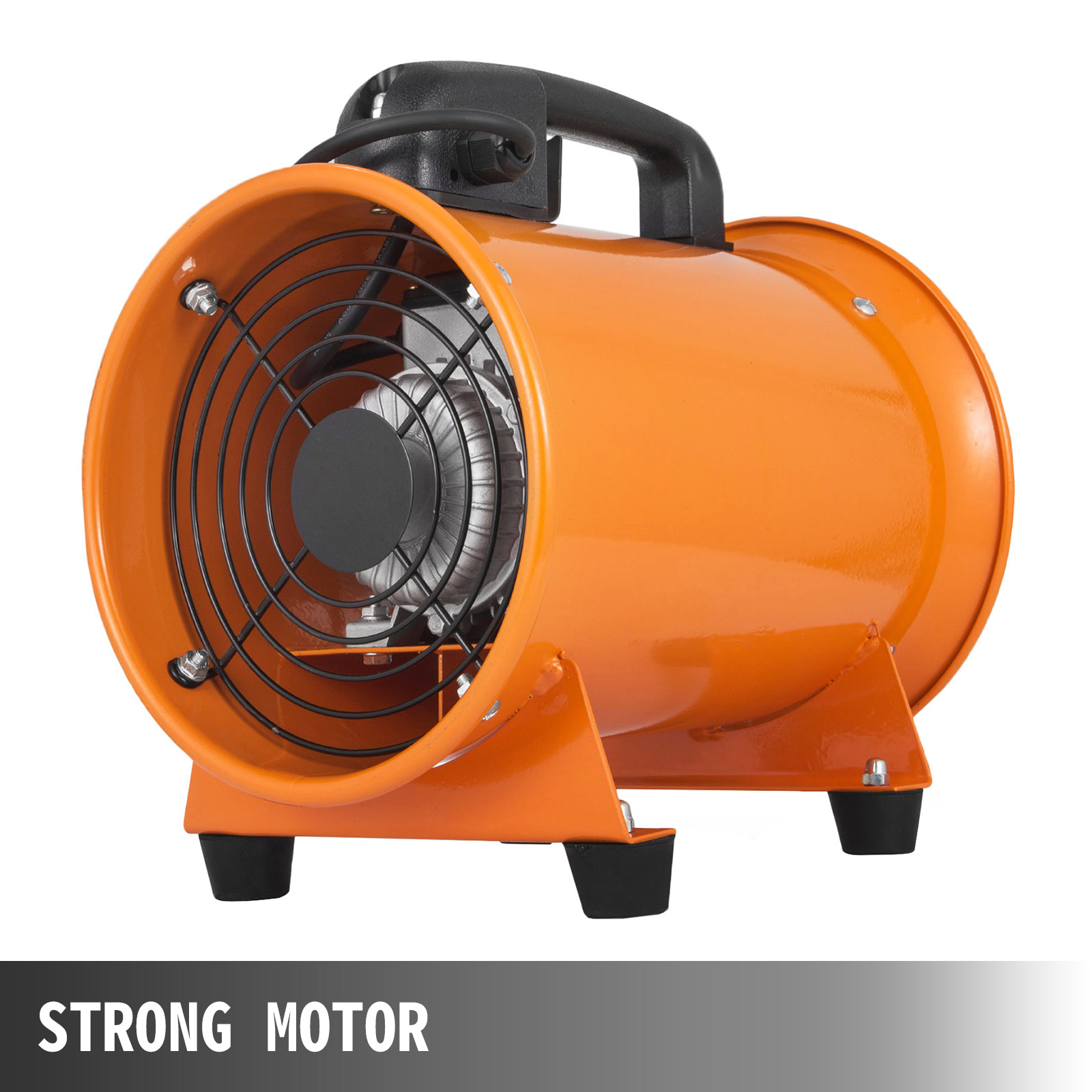 8'' Extractor Fan Blower portable W/5m Duct Hose exhaust ...