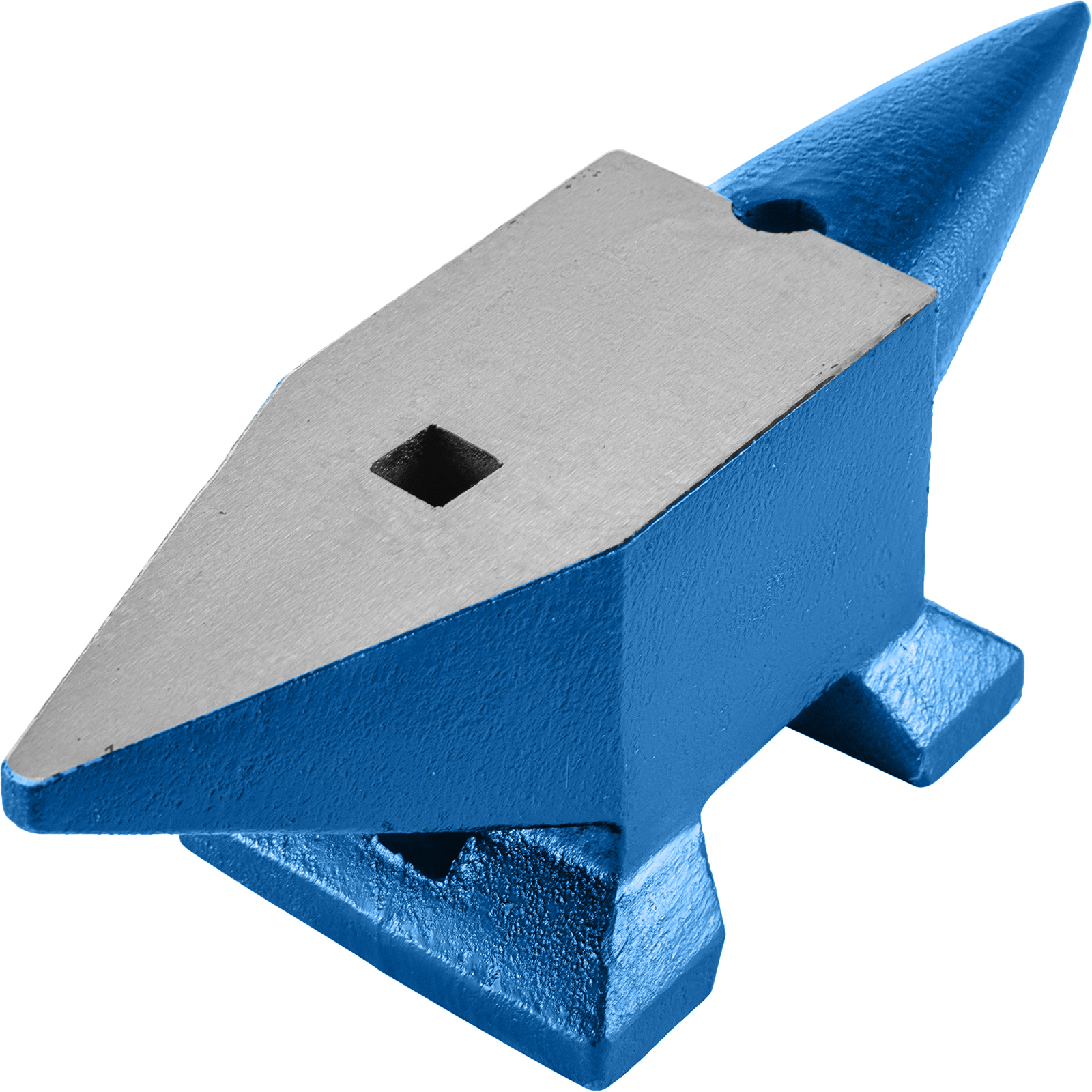 Round Horn 66 LB Blacksmith Cast Steel Anvil Solid Portable Professional Grade