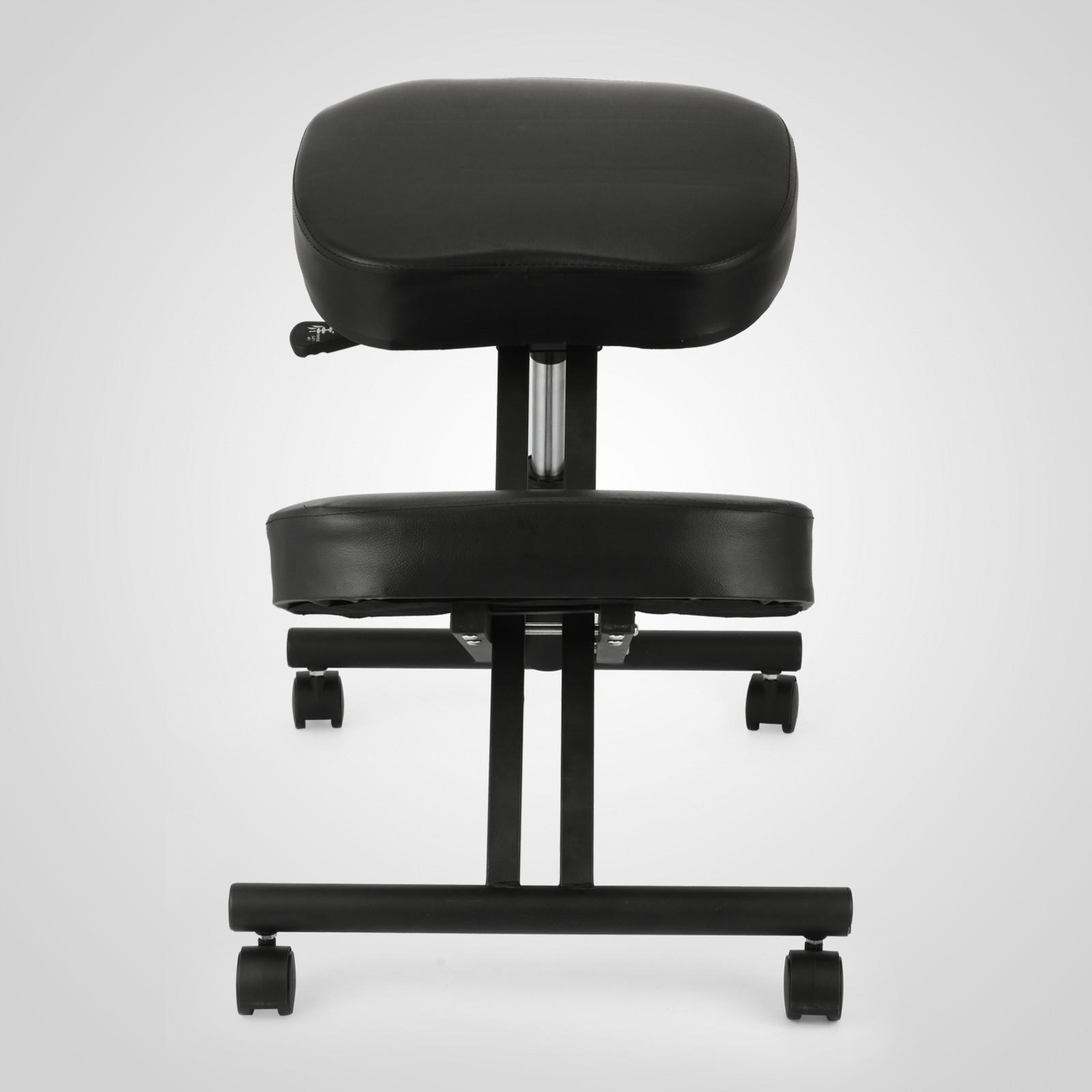 Ergonomic Kneeling Chair Bentwood Steel Frame Heavy Duty
