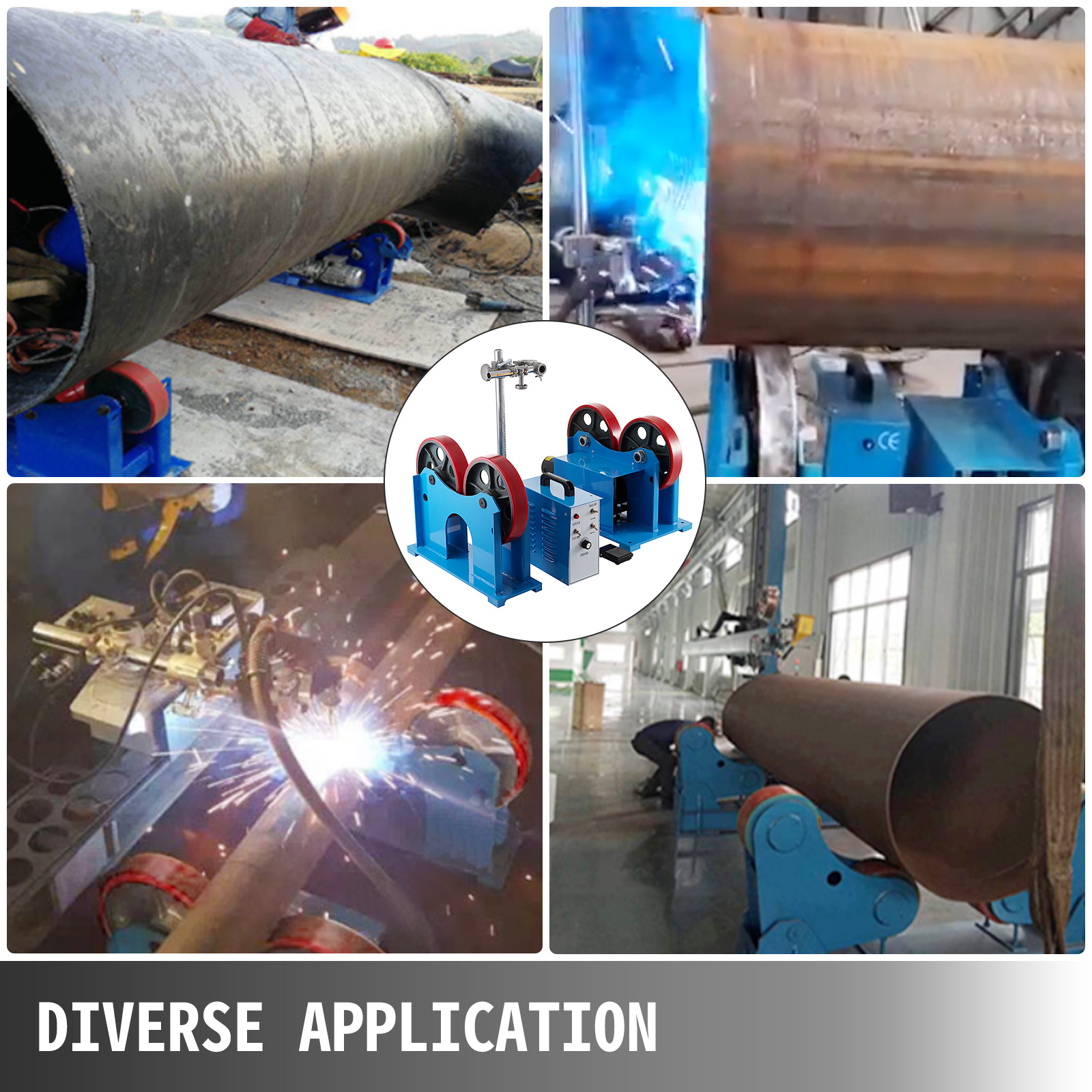CNC, Metalworking & Manufacturing Welding Turning Roll Weld ...
