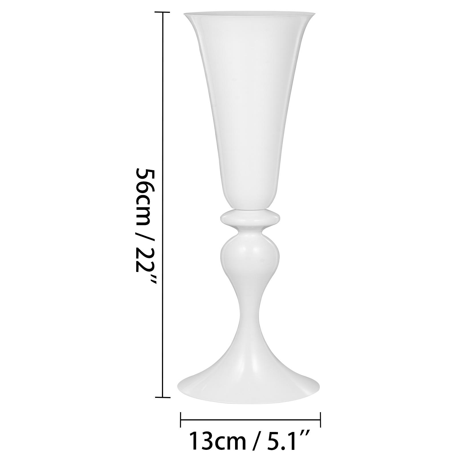 Trumpet-Vase-Flower-Vases-Centerpiece-29-5-034-22-034-for-Party-Celebration-Events thumbnail 80