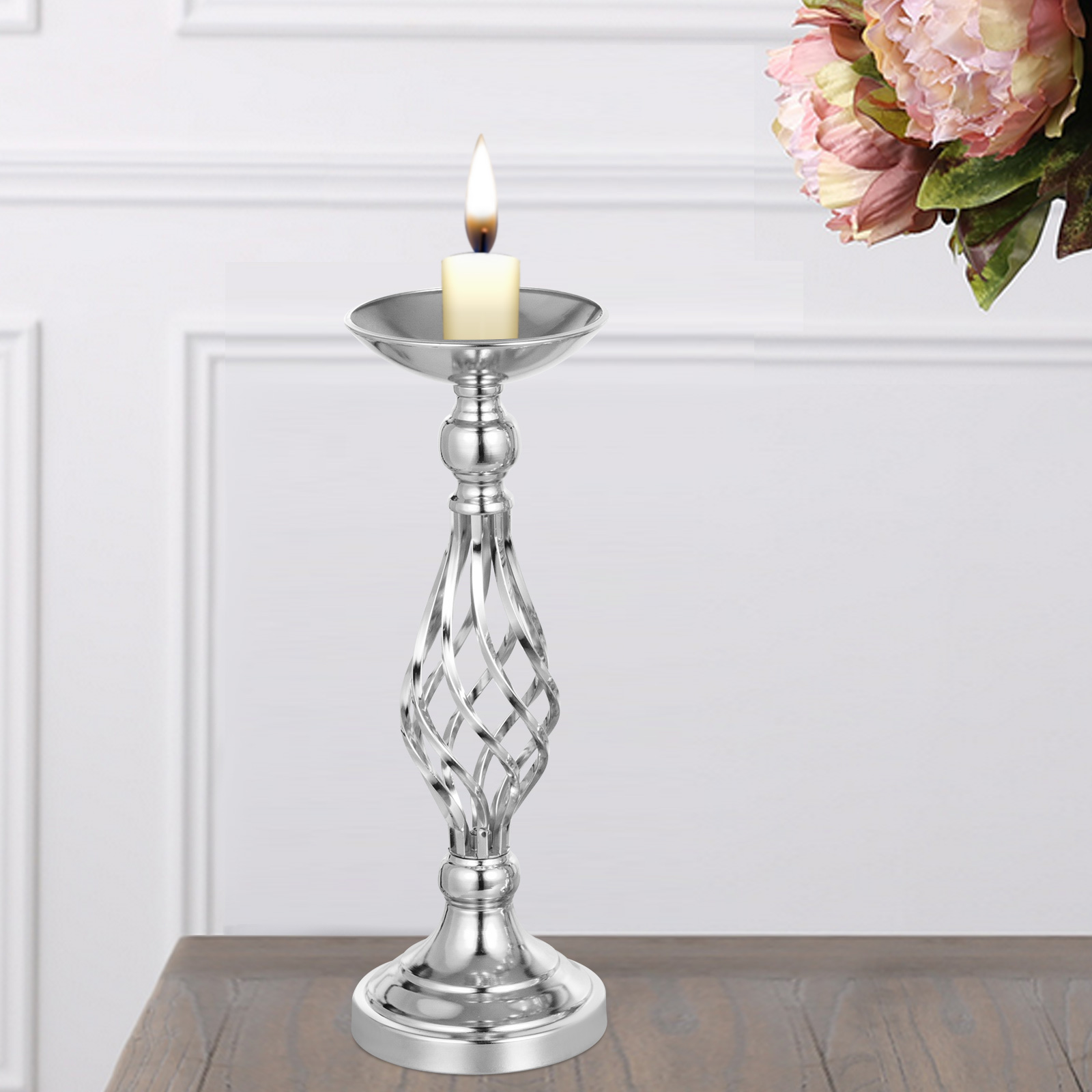 Flower-Rack-for-Wedding-Metal-Candle-Stand-4-11pcs-Centerpiece-Flower-Vase thumbnail 46